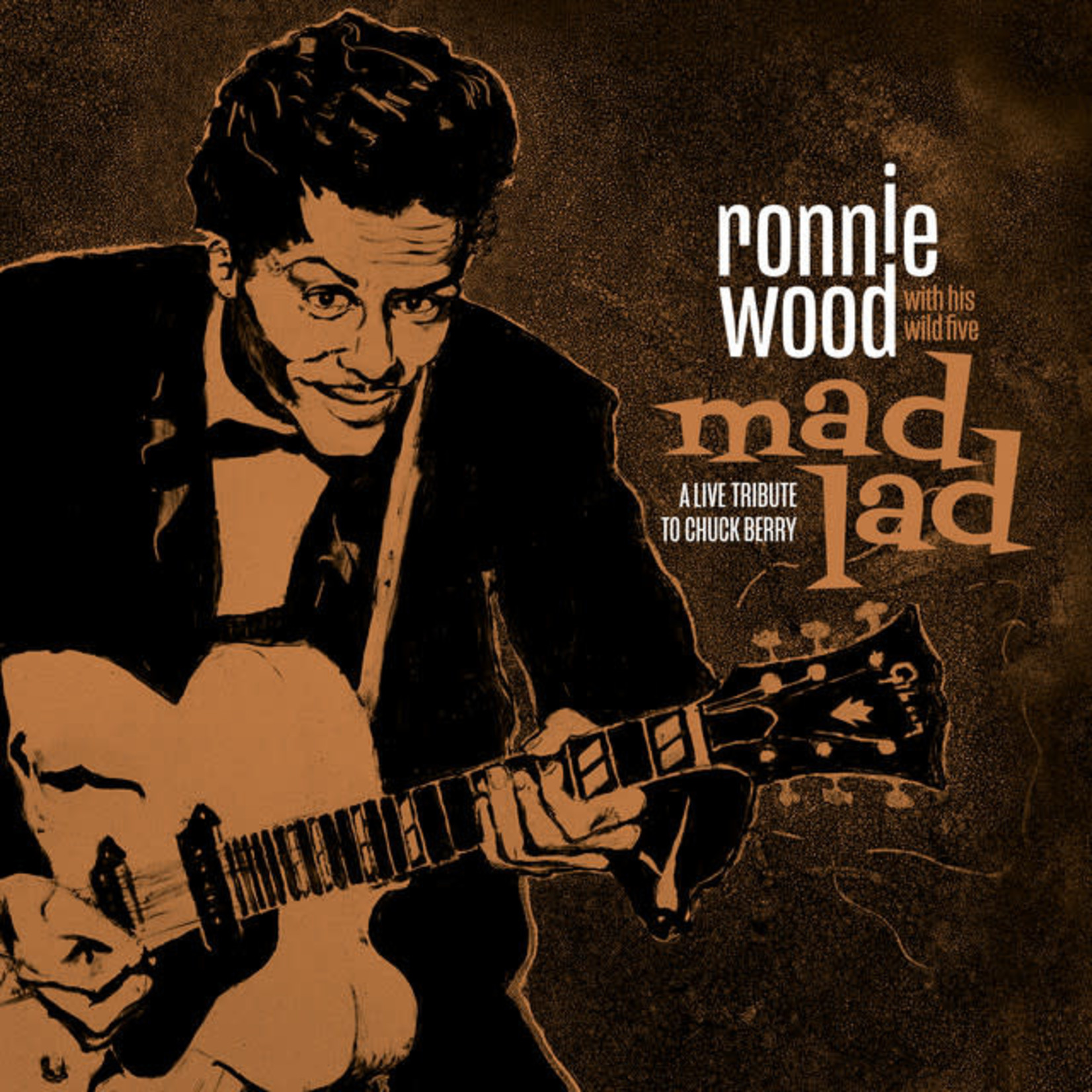 Vinyl Ronnie Wood - Mad Lad.  Final Sale