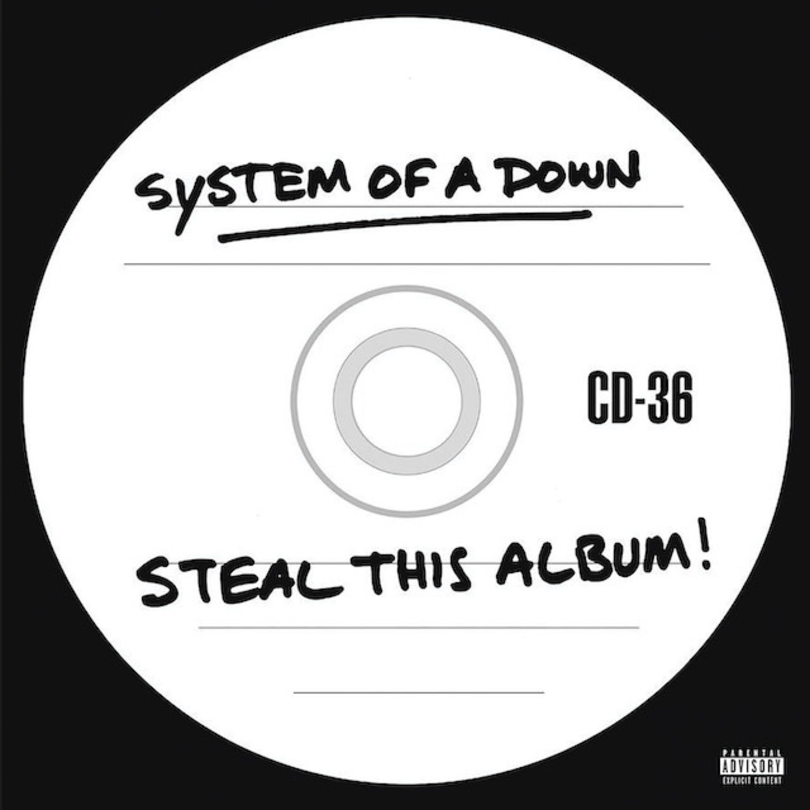 Vinyl System Of Down - Steal This Album
