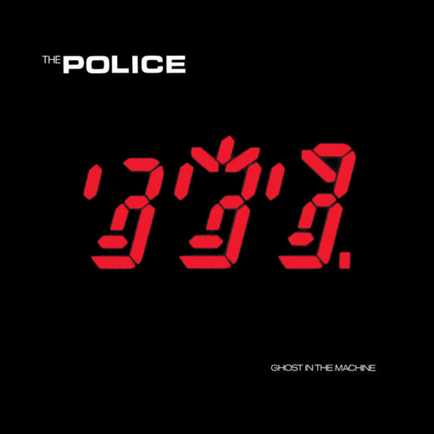 Vinyl The Police - Ghost In The Machine
