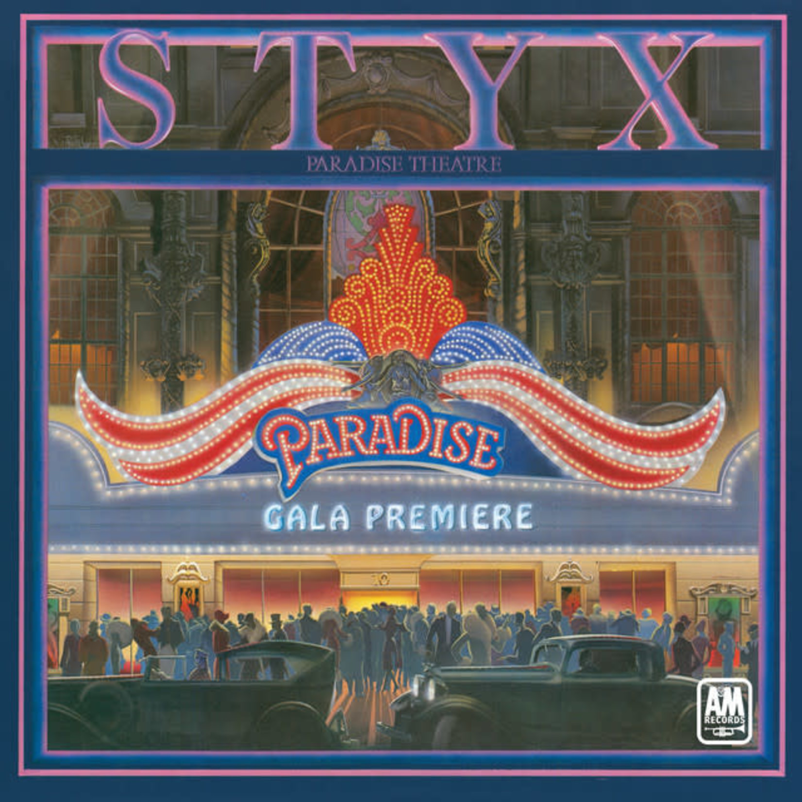 Vinyl Styx - Paradise Theatre