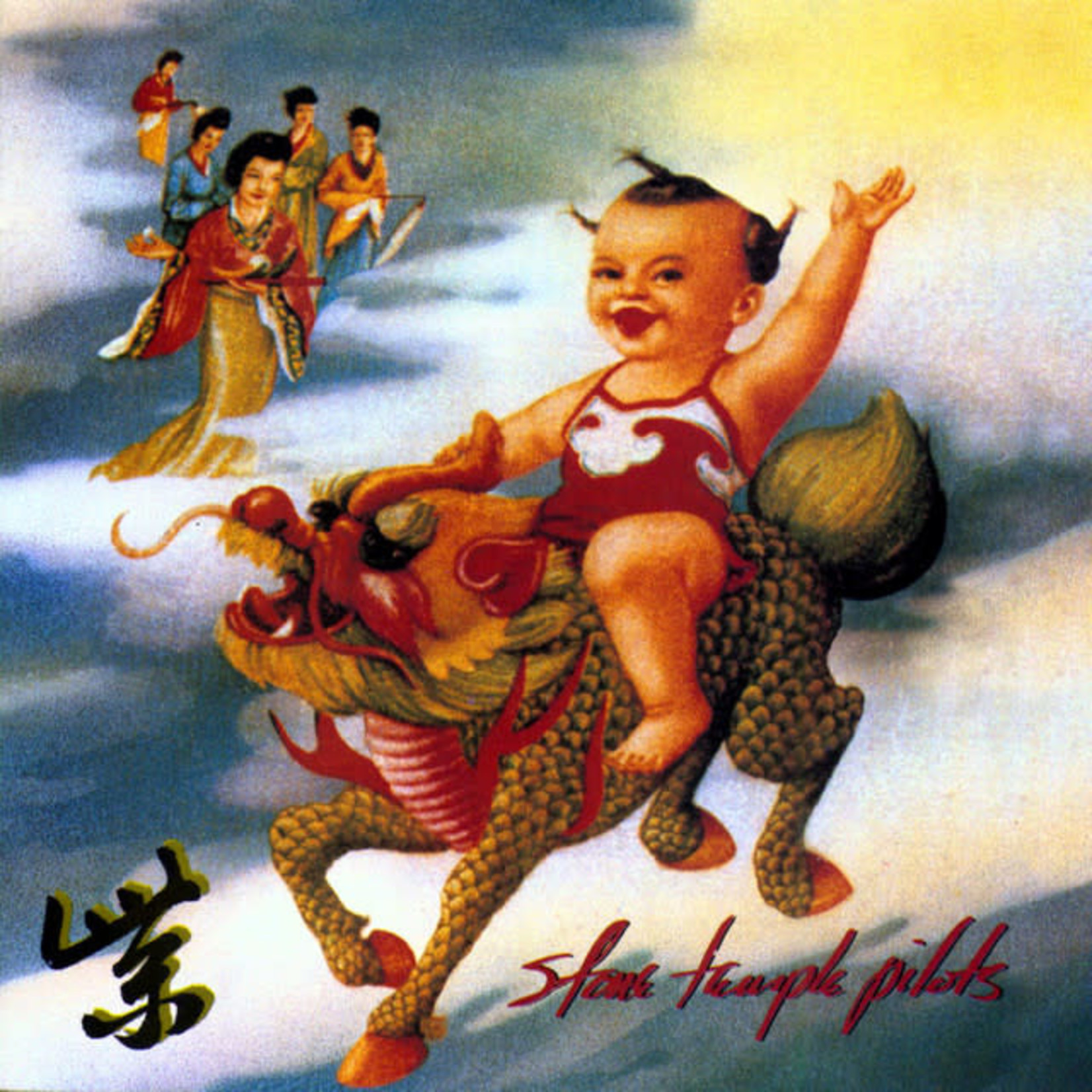 Vinyl Stone Temple Pilots - Purple