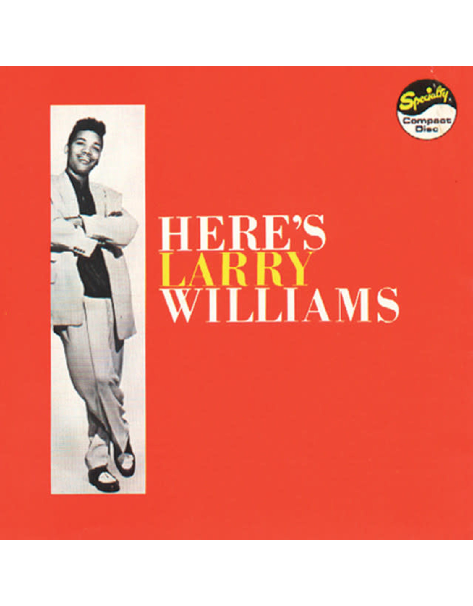 Vinyl Larry Williams - Here's Larry Williams