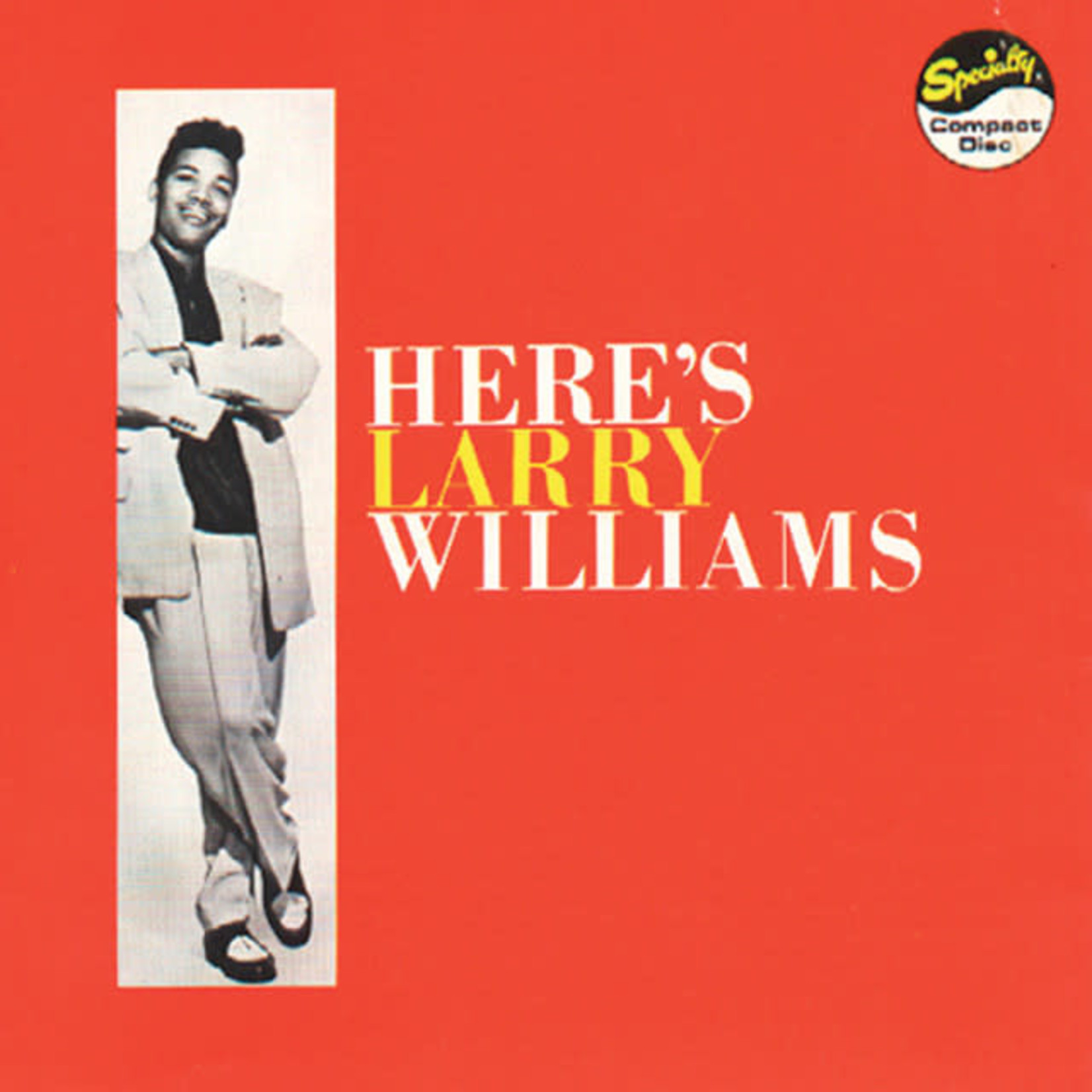 Vinyl Larry Williams - Here's Larry Williams