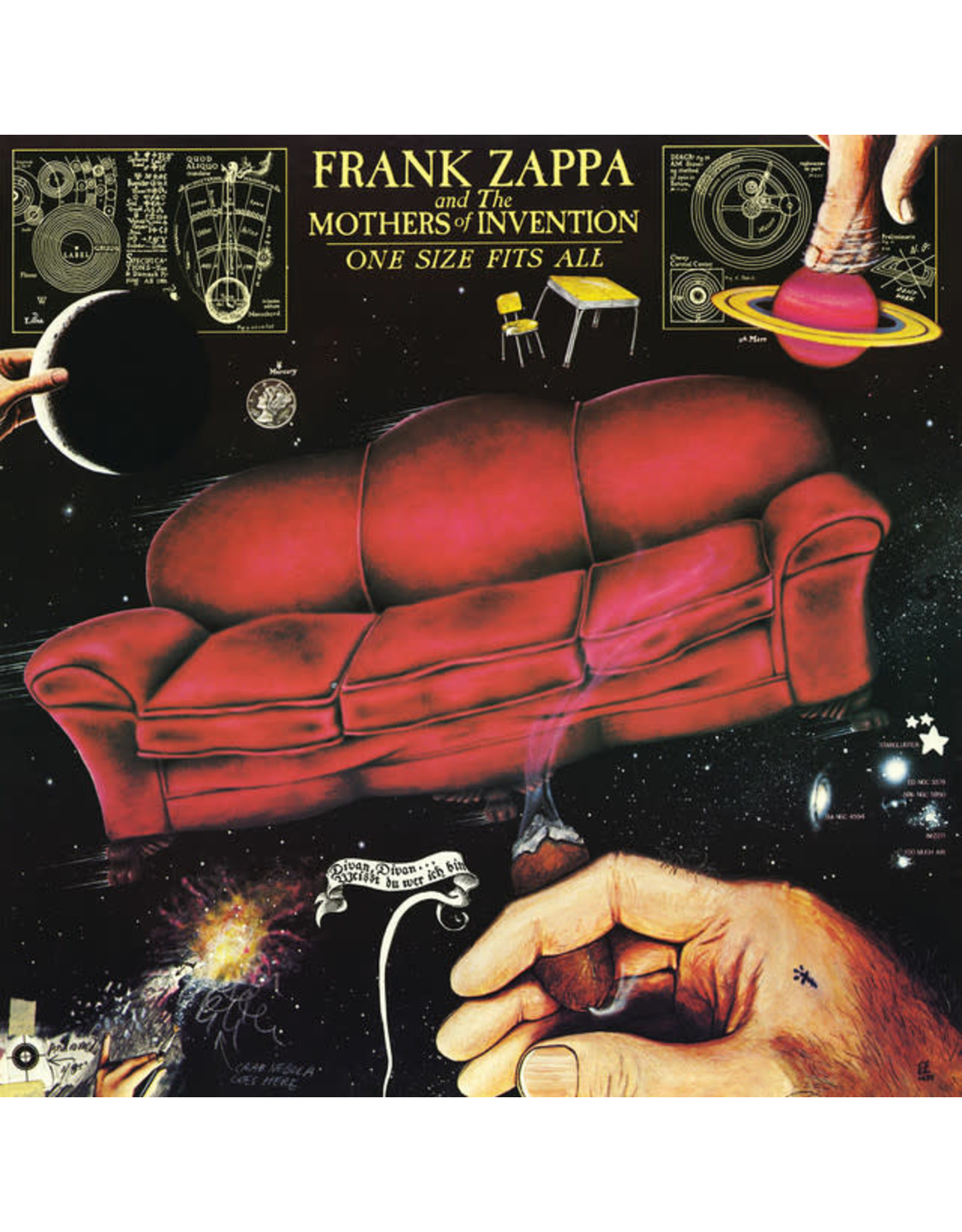 Vinyl Frank Zappa - One Size Fits All