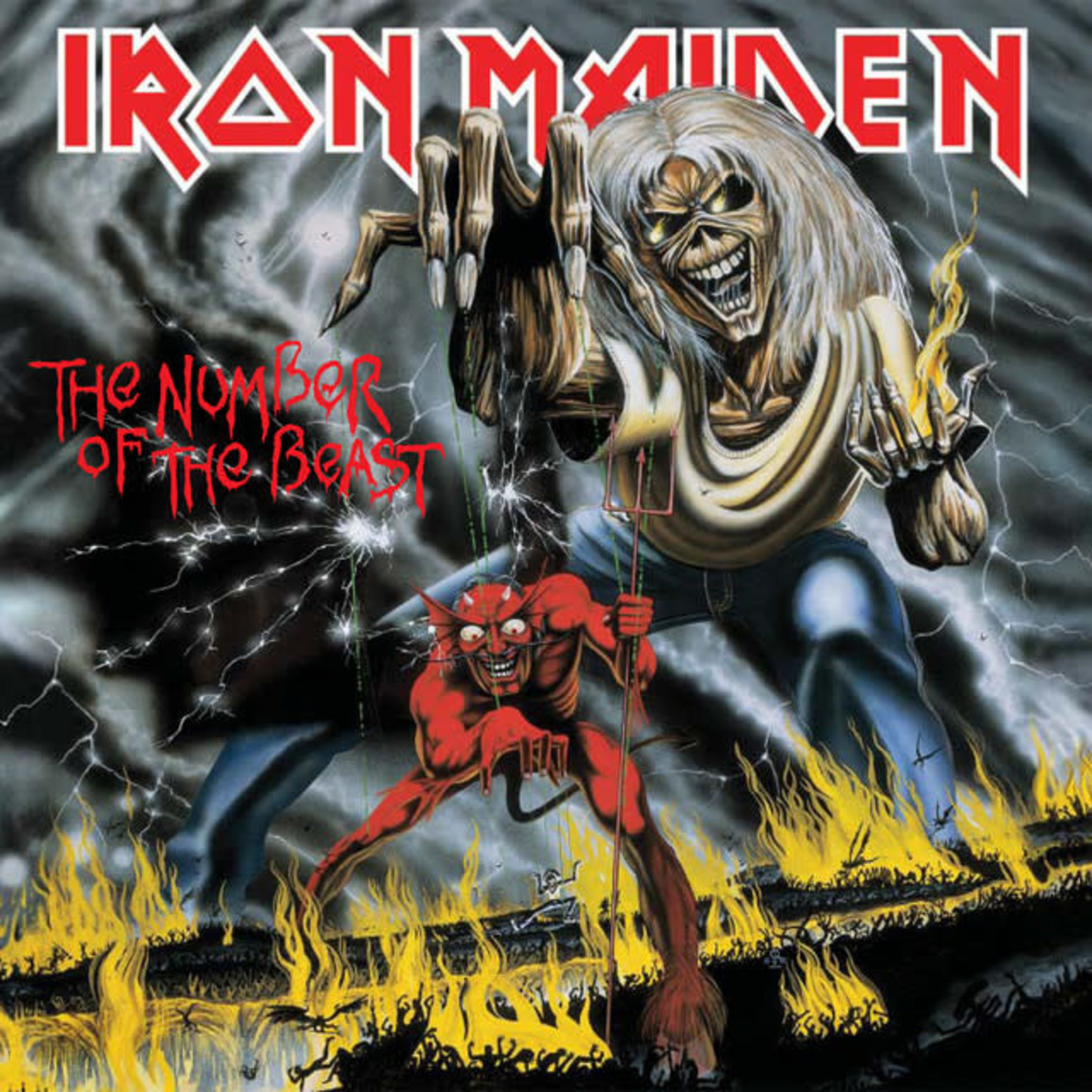 Vinyl Iron Maiden - The Number Of The Beast