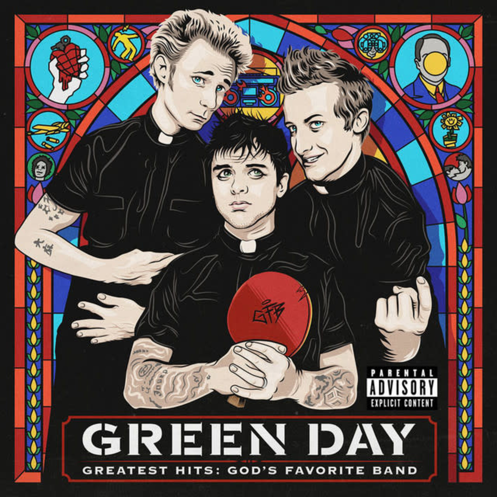 Vinyl Green Day - Greatest Hits: God's Favorite Band