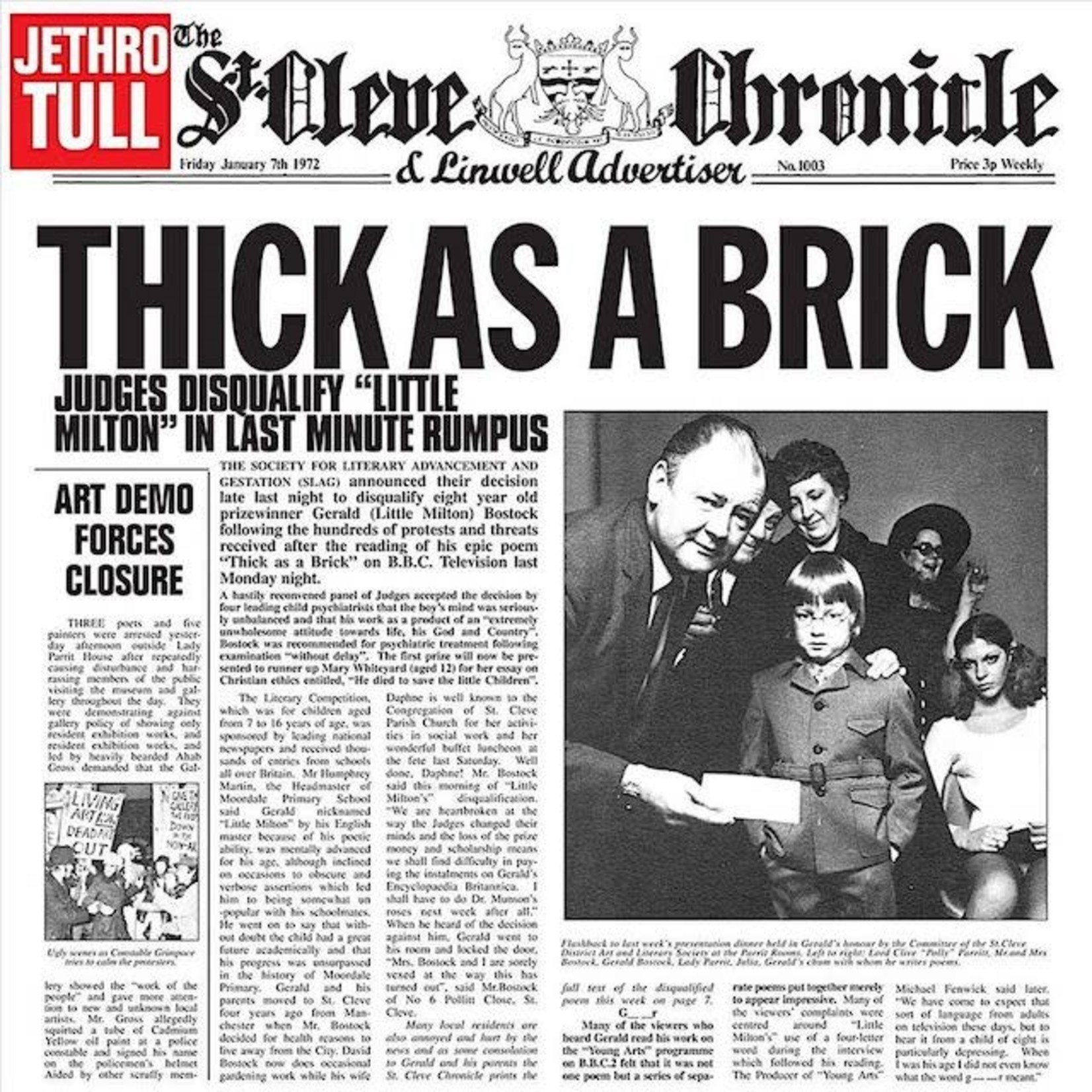 Vinyl Jethro Tull - Thick As A Brick
