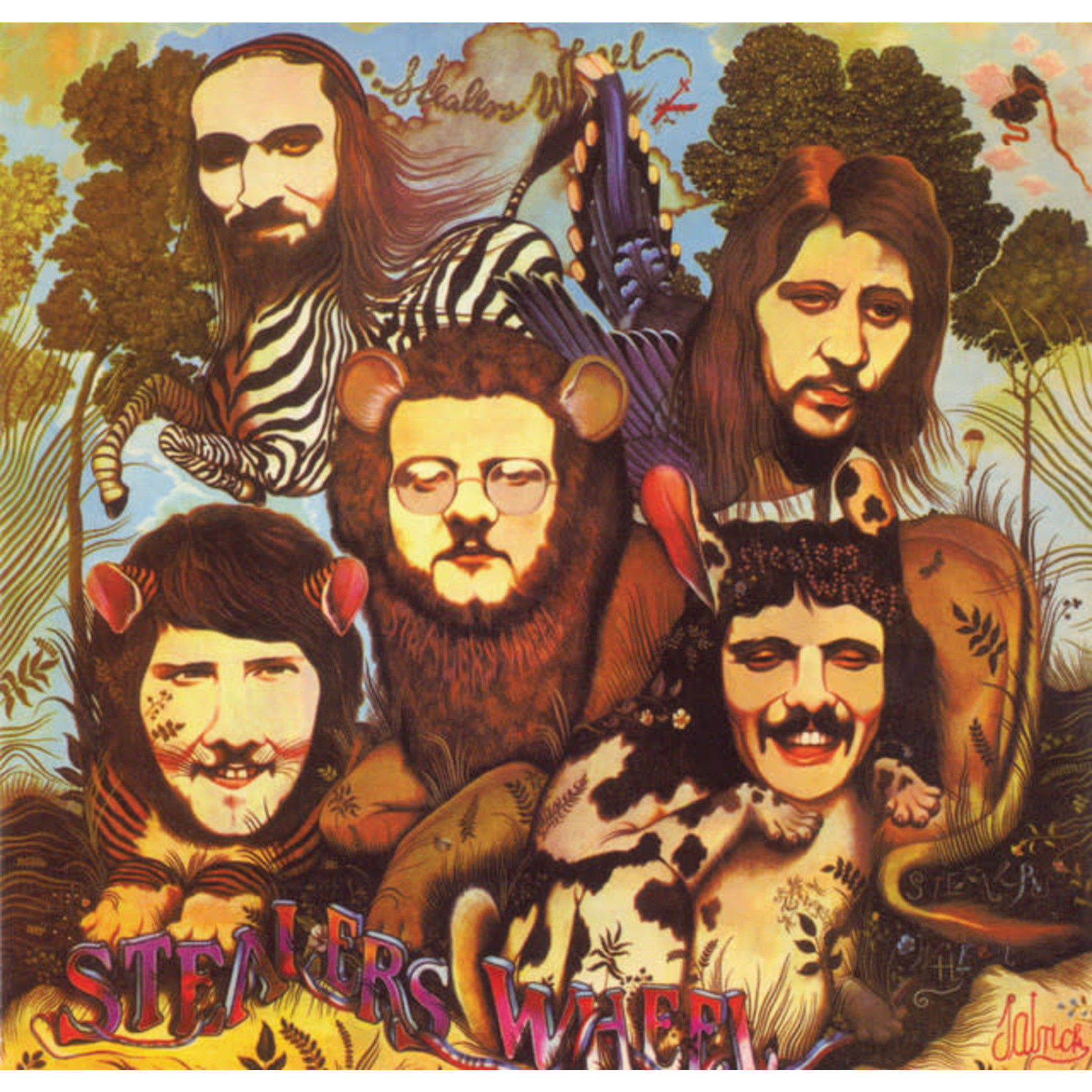 Vinyl Stealers Wheel - S/T