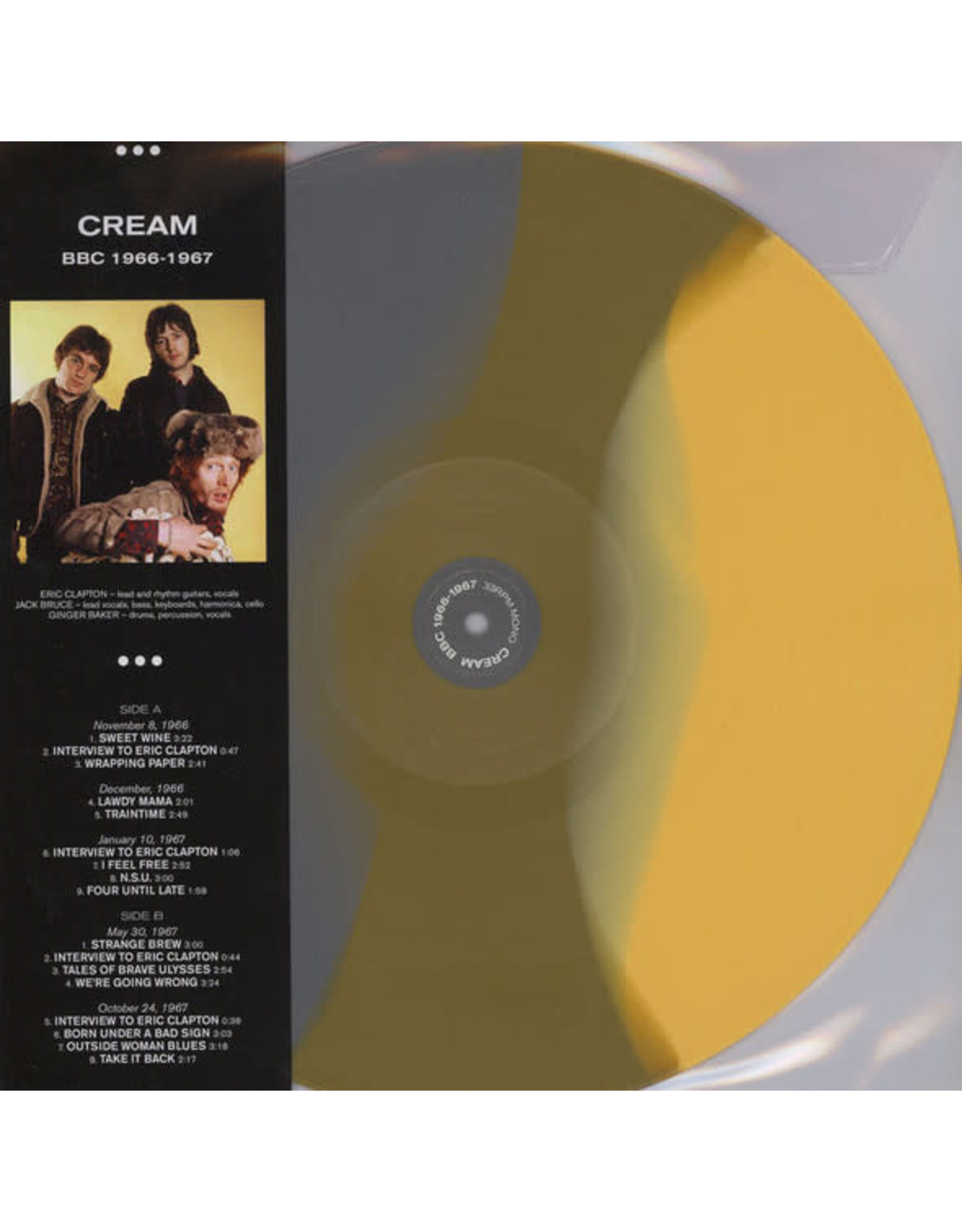 Vinyl Cream - BBC 1966-1967 (Ltd Colour Vinyl). Final Sale