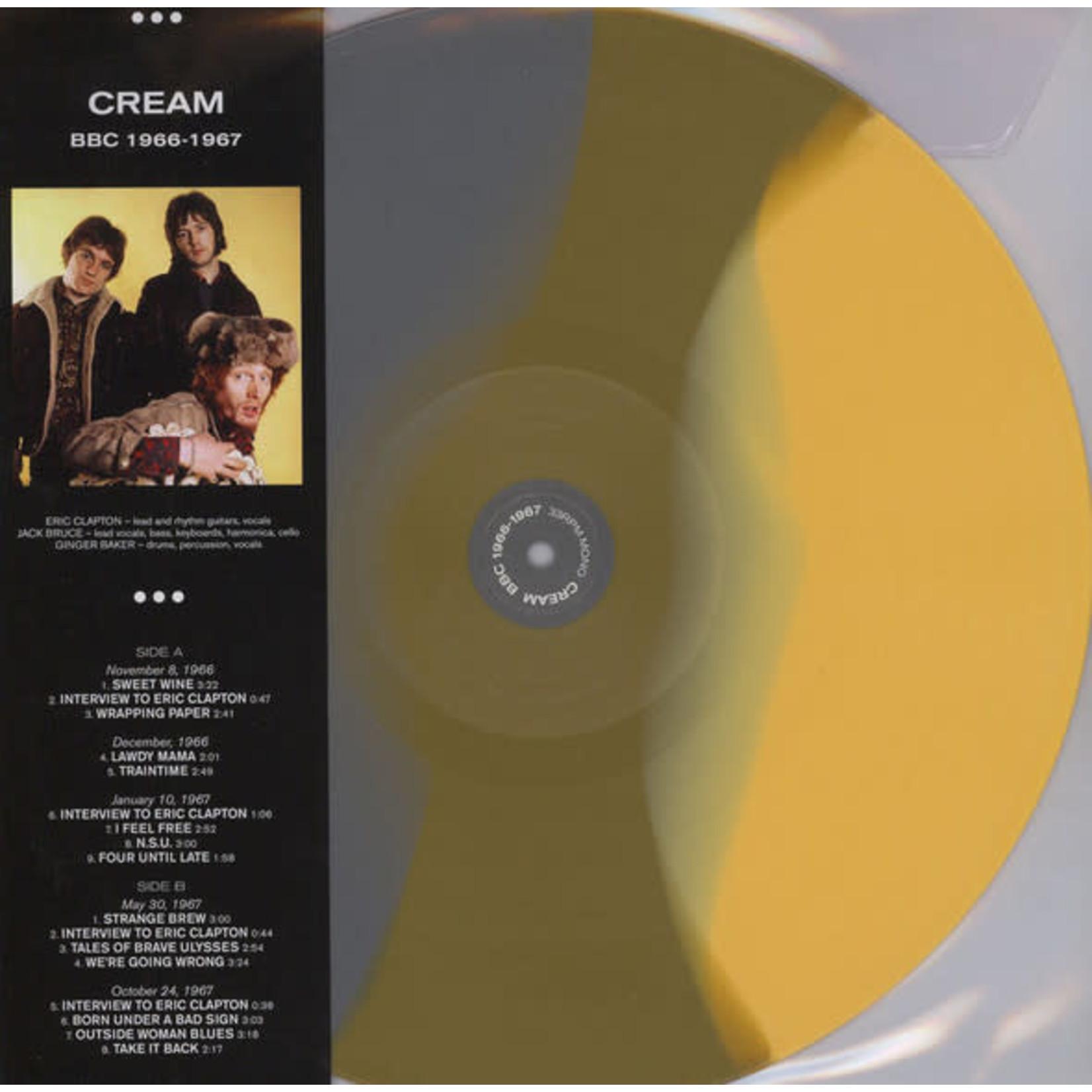 Vinyl Cream - BBC 1966-1967 (Ltd Colour Vinyl). Final Sale