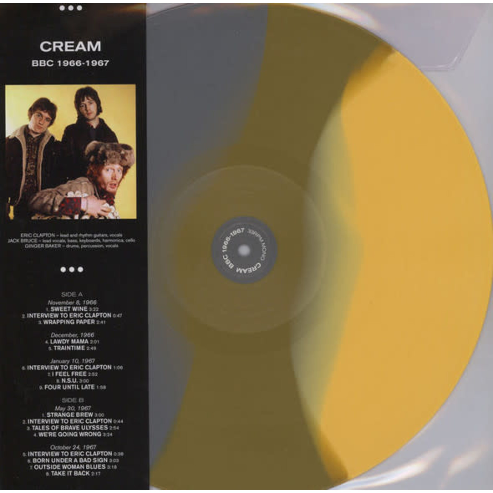Vinyl Cream - BBC 1966-1967 (Ltd Colour Vinyl)