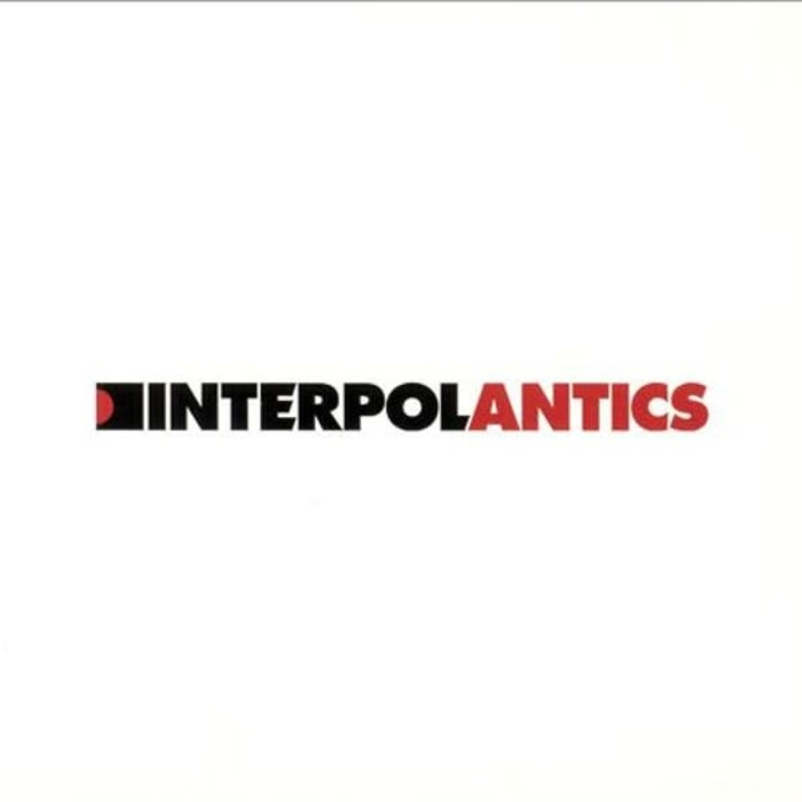 Vinyl Interpol - Antics