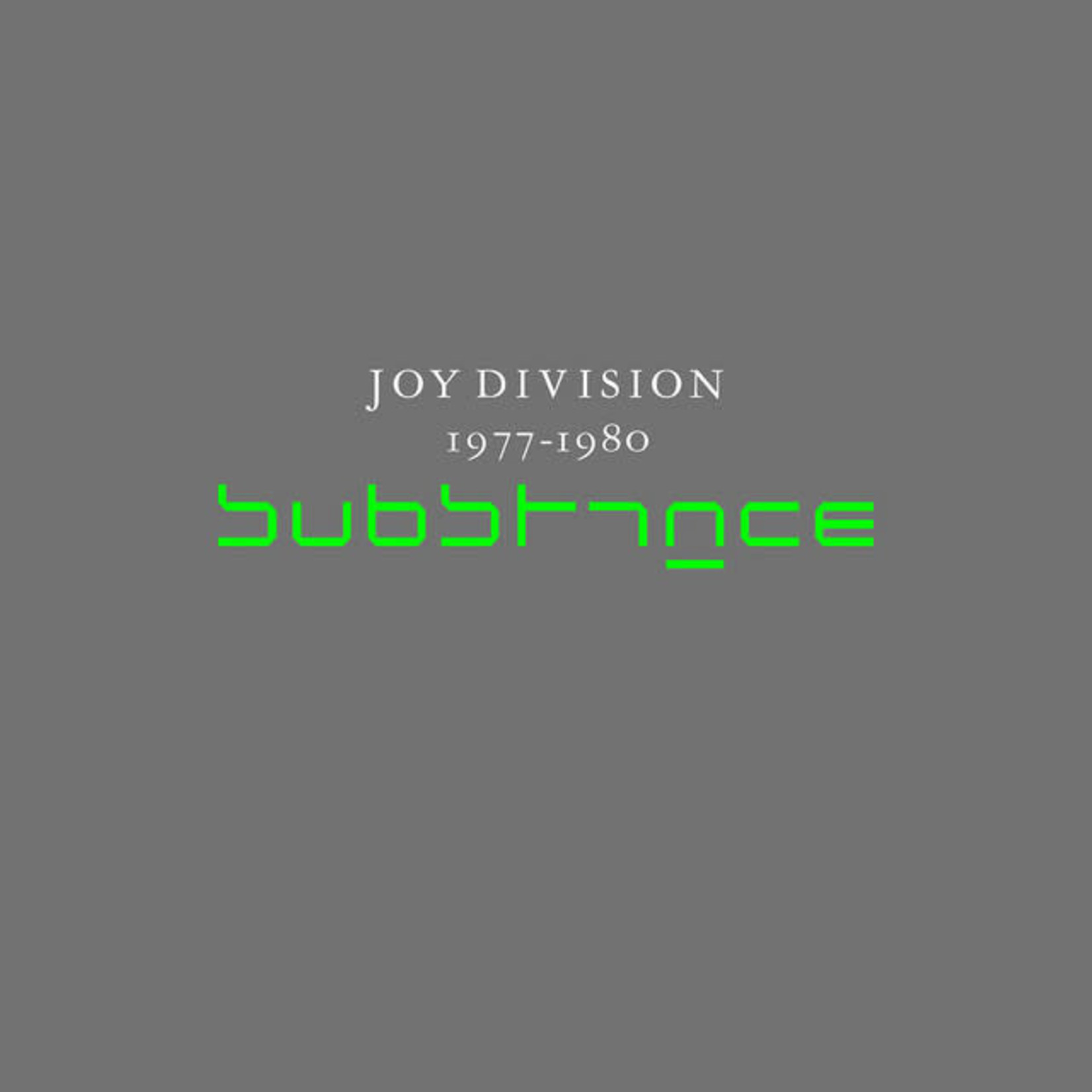 Vinyl Joy Division - Substance