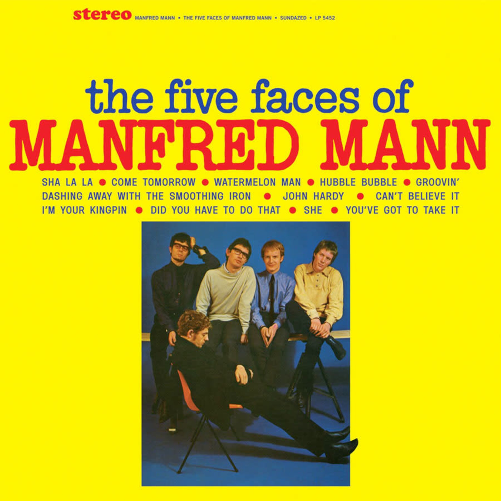 Vinyl Manfred Mann - The Five Faces of Manfred Mann