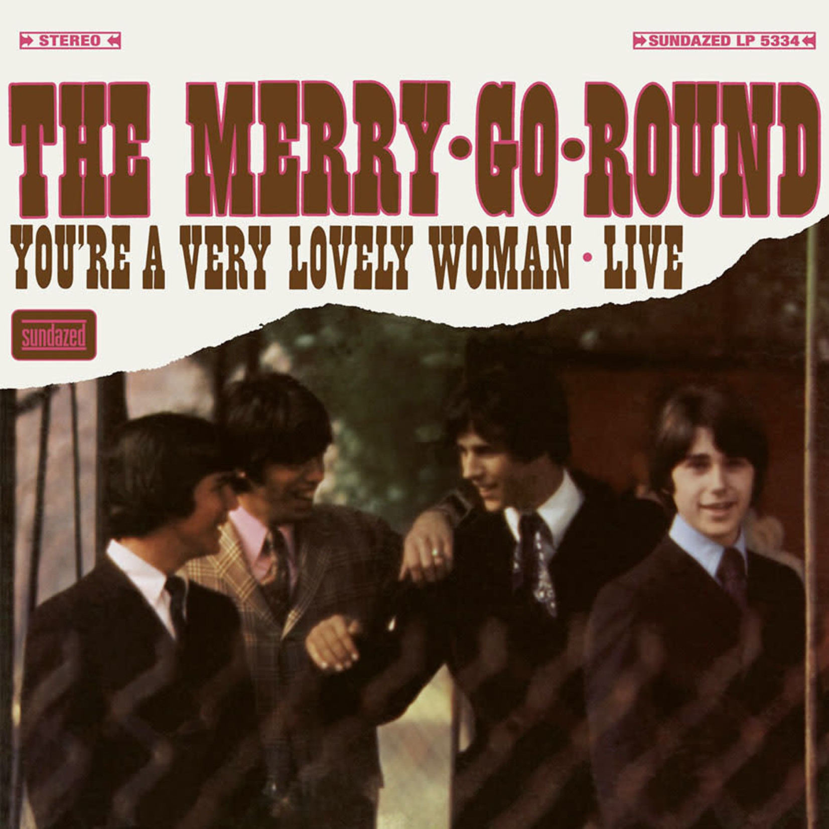 Vinyl The Merry-Go-Round - You're A Very Lovely Woman Live