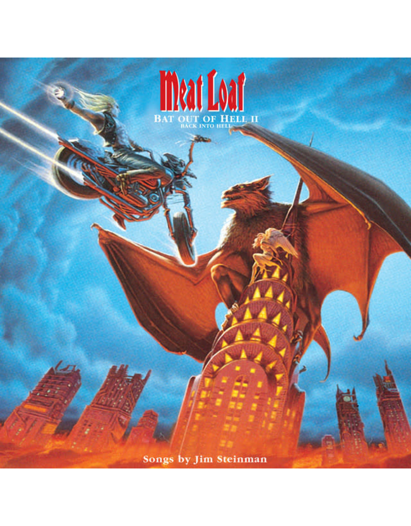 Vinyl Meat Loaf - Bat Out Of Hell II