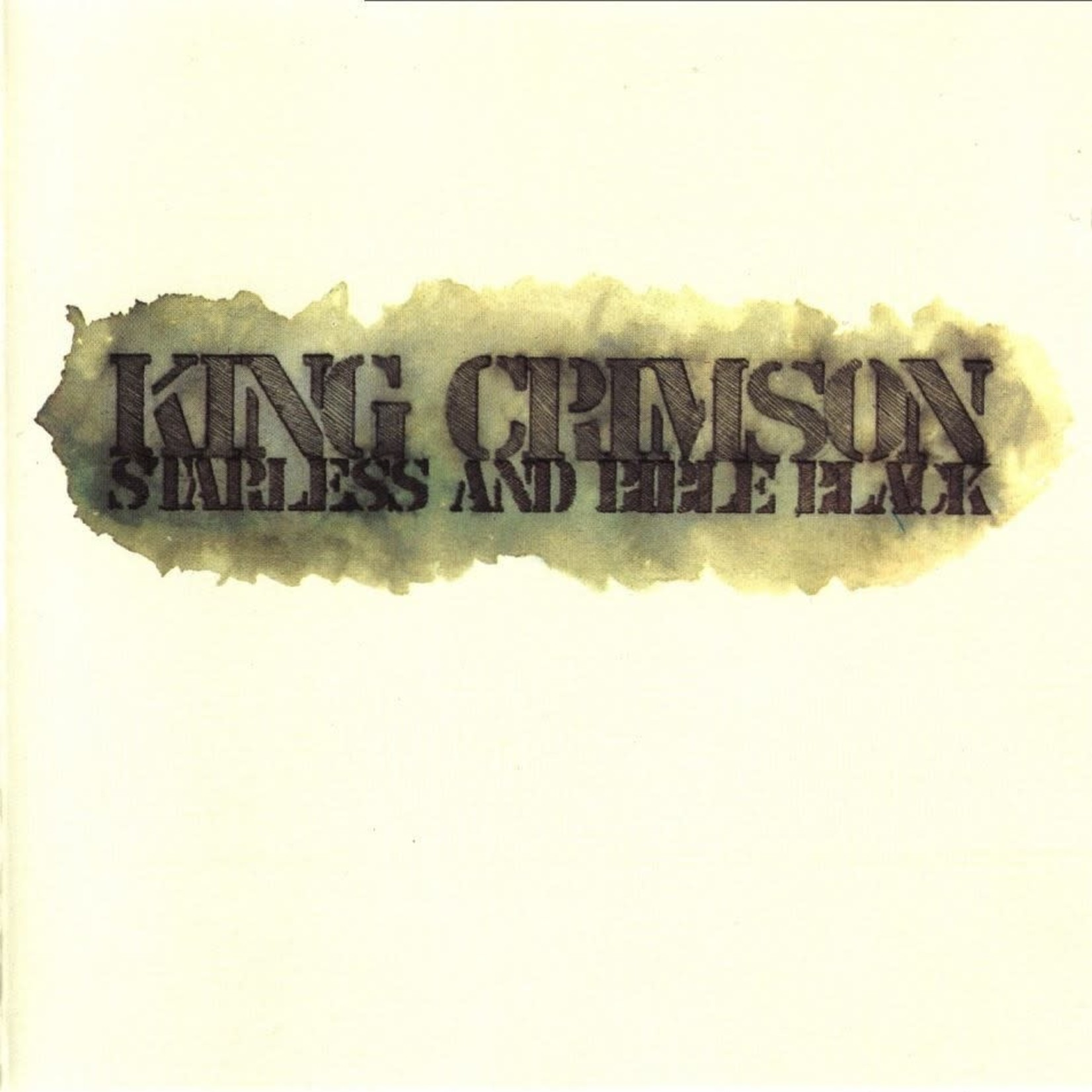 Vinyl King Crimson - Starless And Bible Black