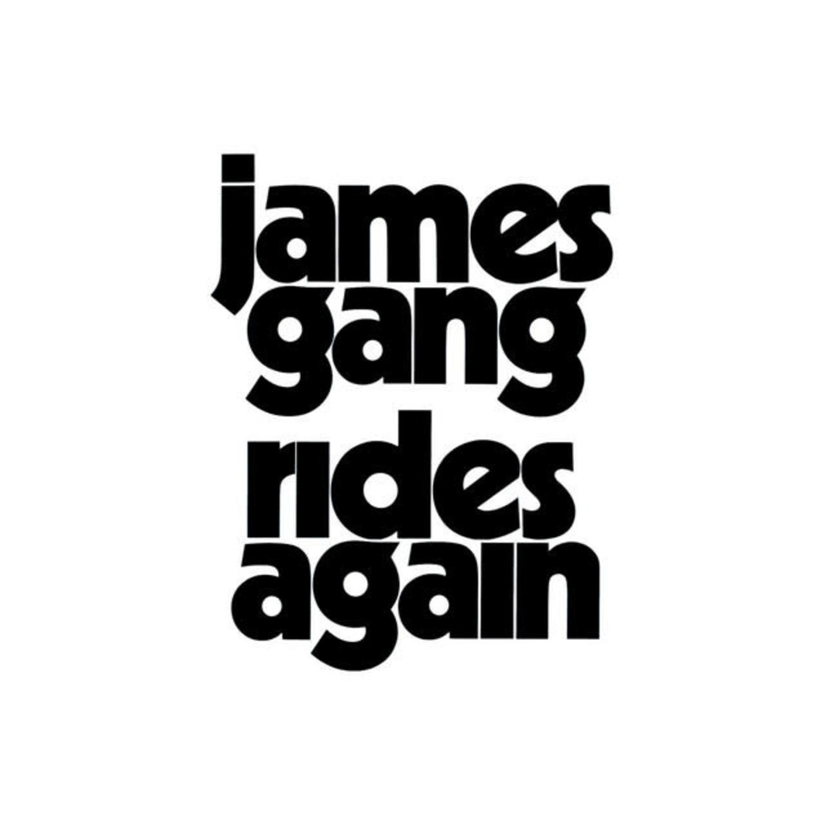 Vinyl James Gang - Rides Again