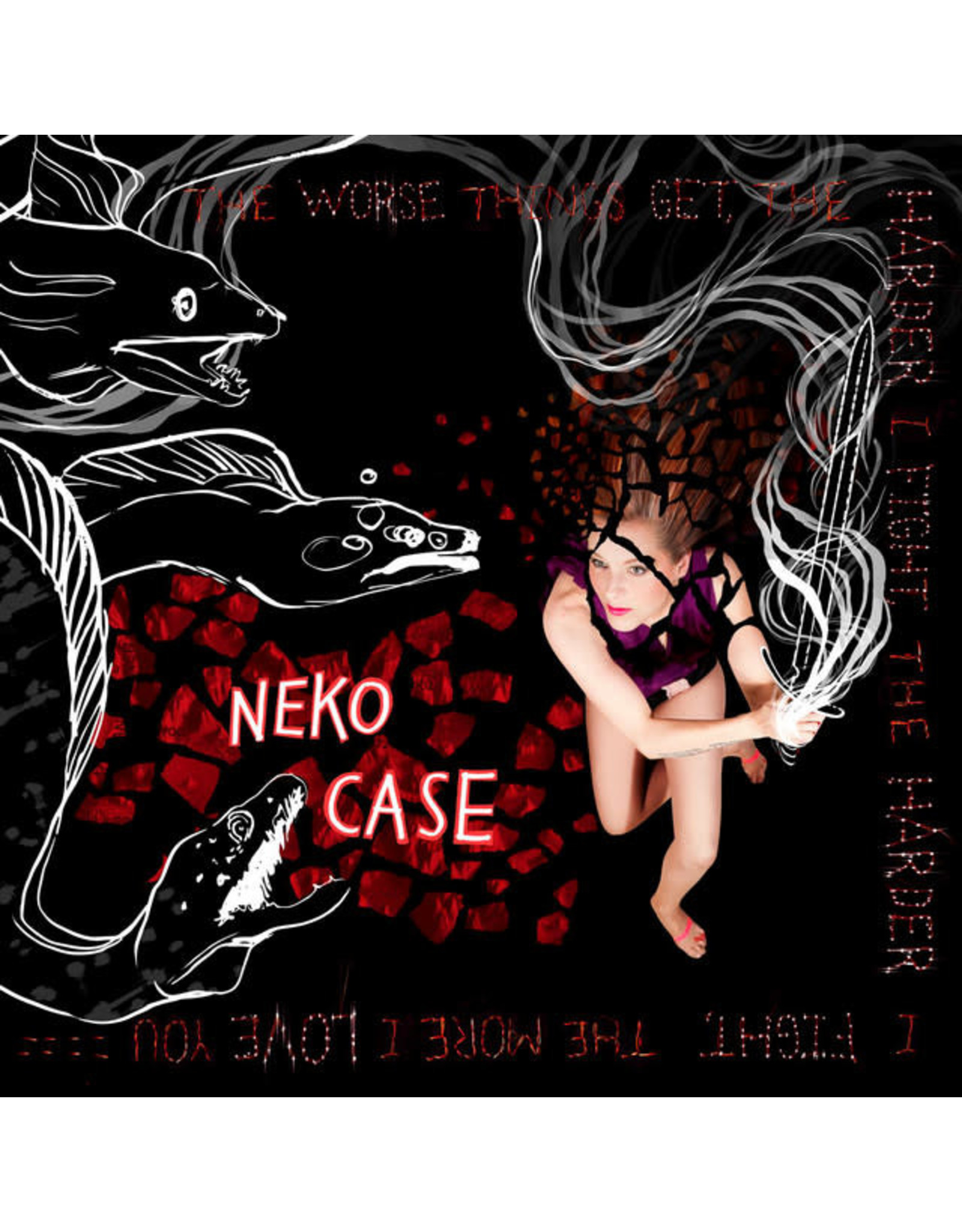 Vinyl Neko Case - The Worse Things Get.  Final Sale