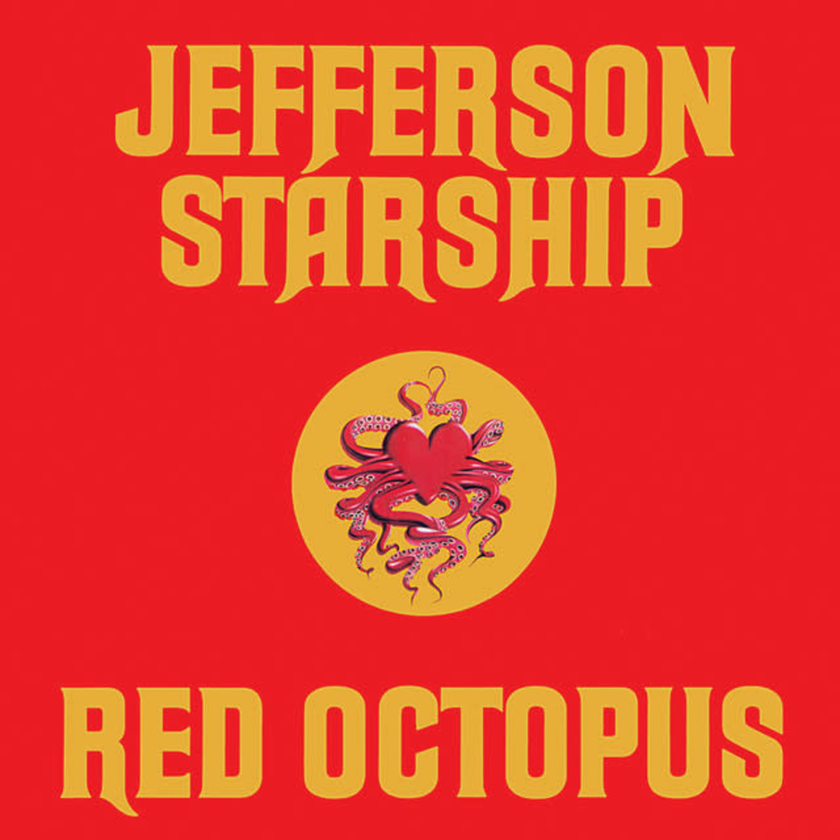 Vinyl Jefferson Airplane - Red Octopus