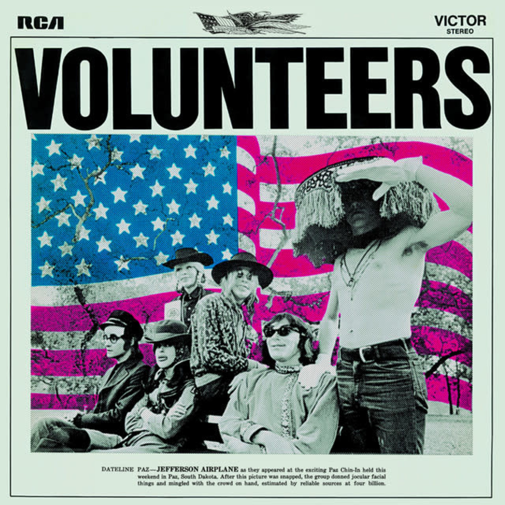 Vinyl Jefferson Airplane - Volunteers.  Final Sale
