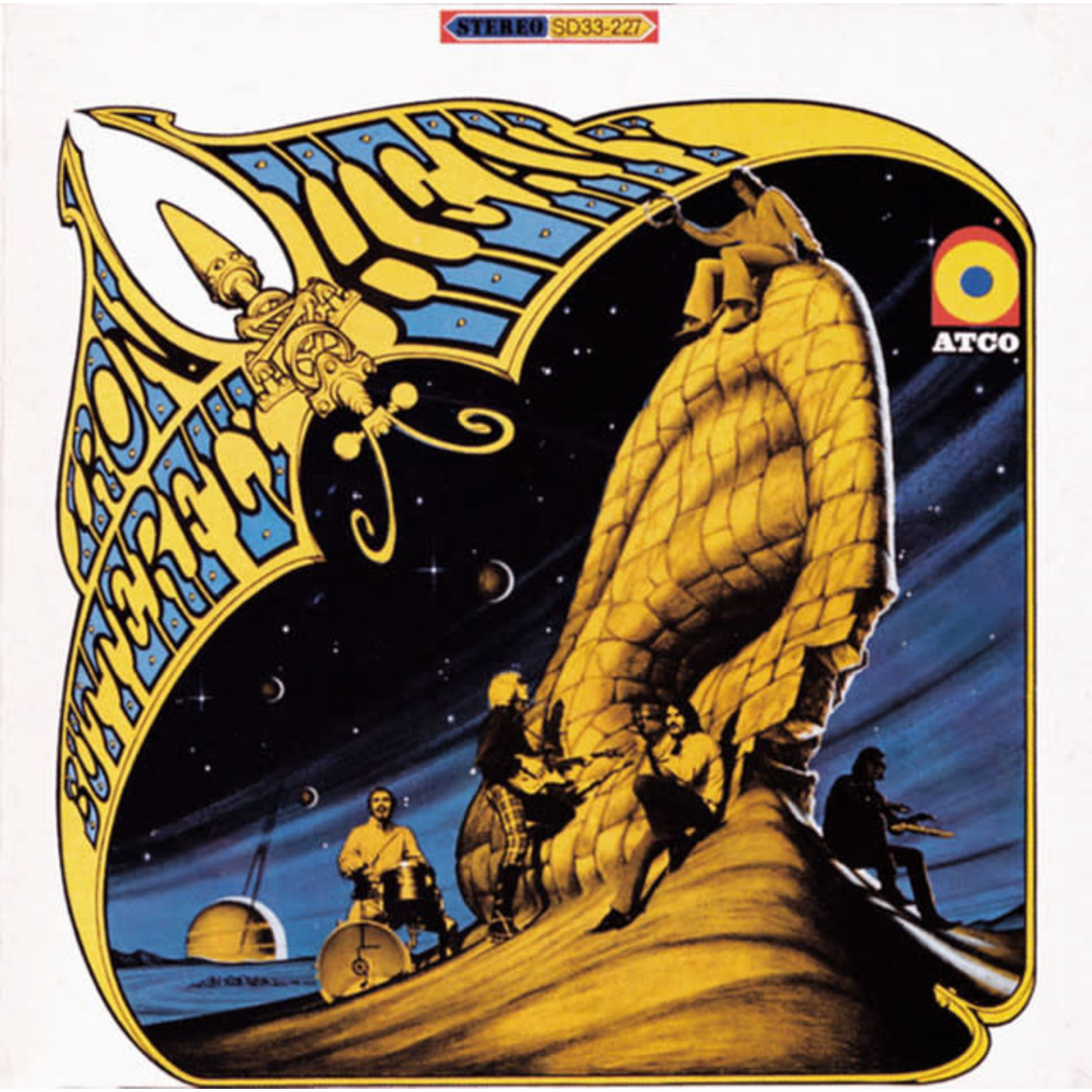 Vinyl Iron Butterfly - Heavy $$