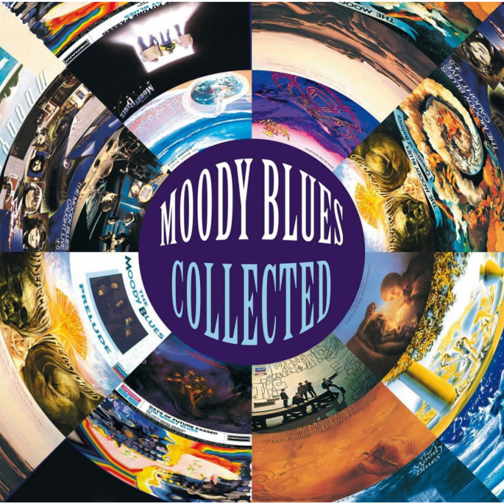 Vinyl Moody Blues - Collected