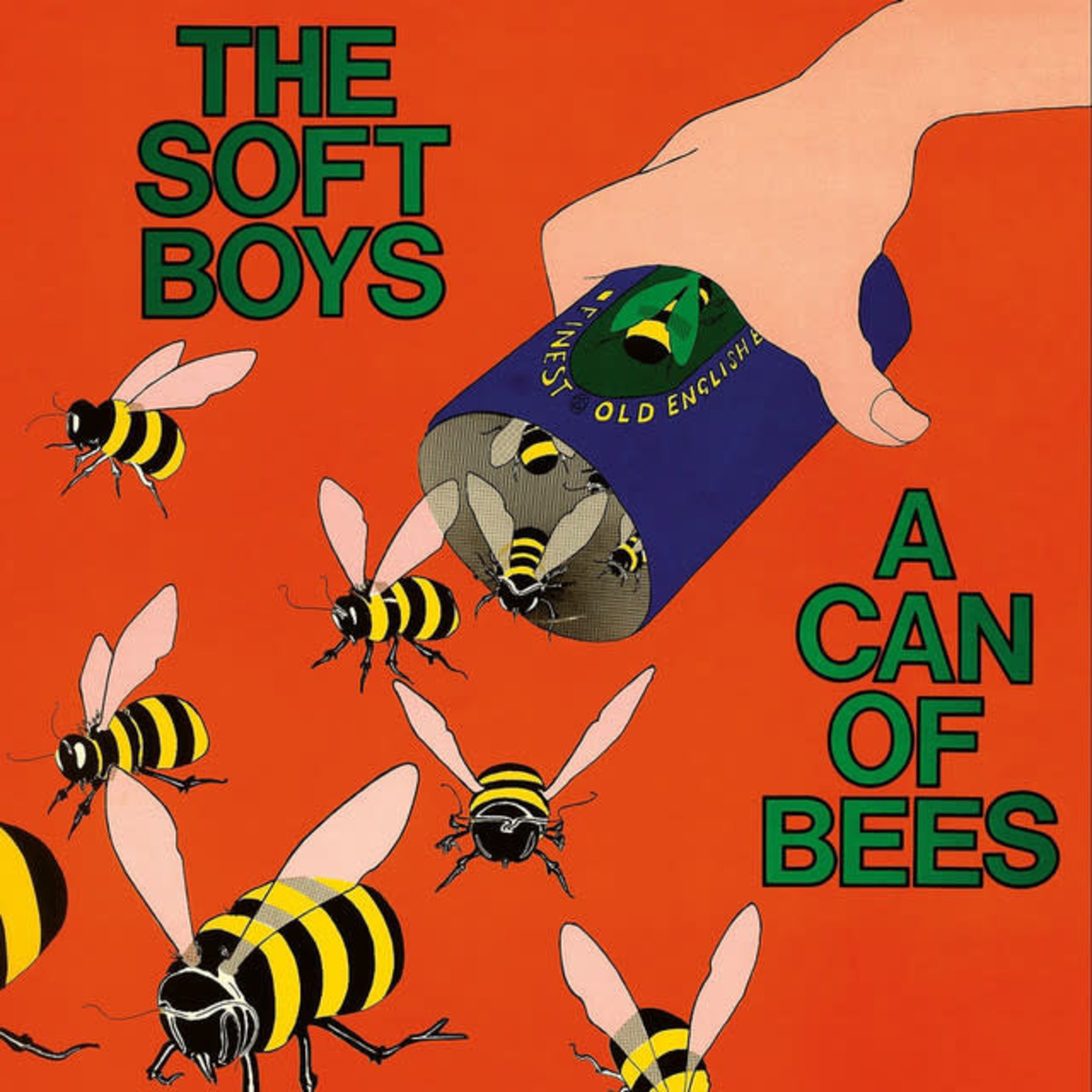 Vinyl The Soft Boys - A Can Of Bees. $$