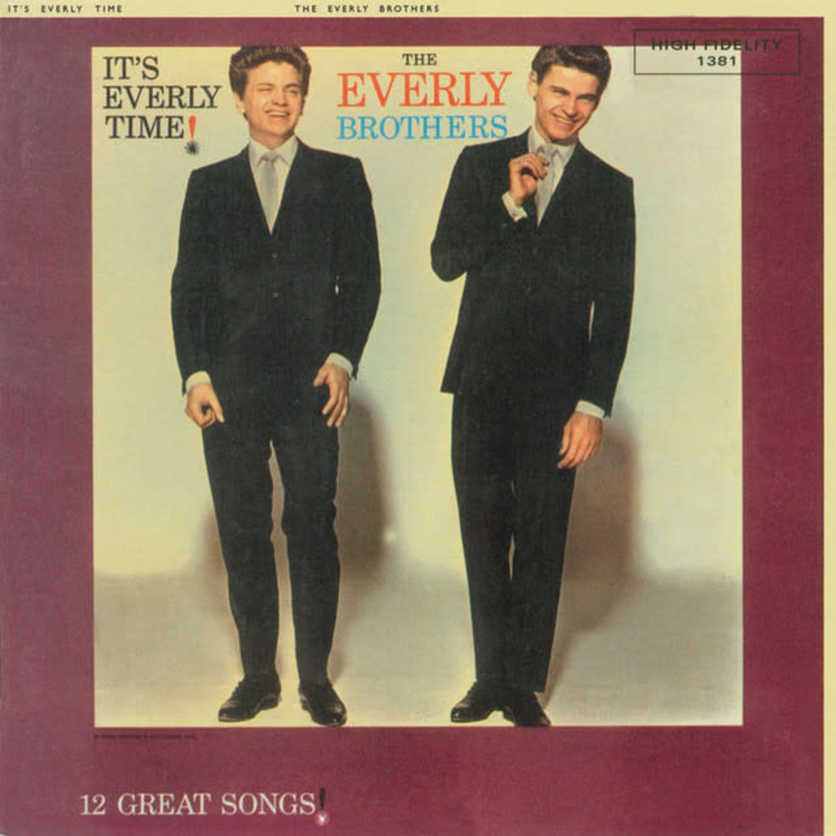 Vinyl Everly Brothers - It's Everly Time