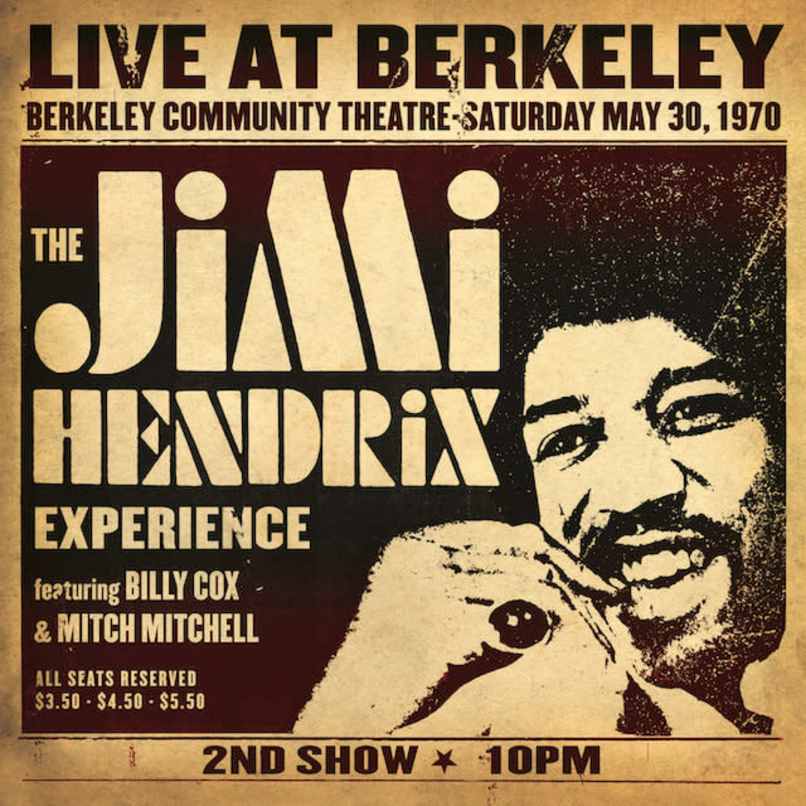 Vinyl Jimi Hendrix - Live At Berkeley