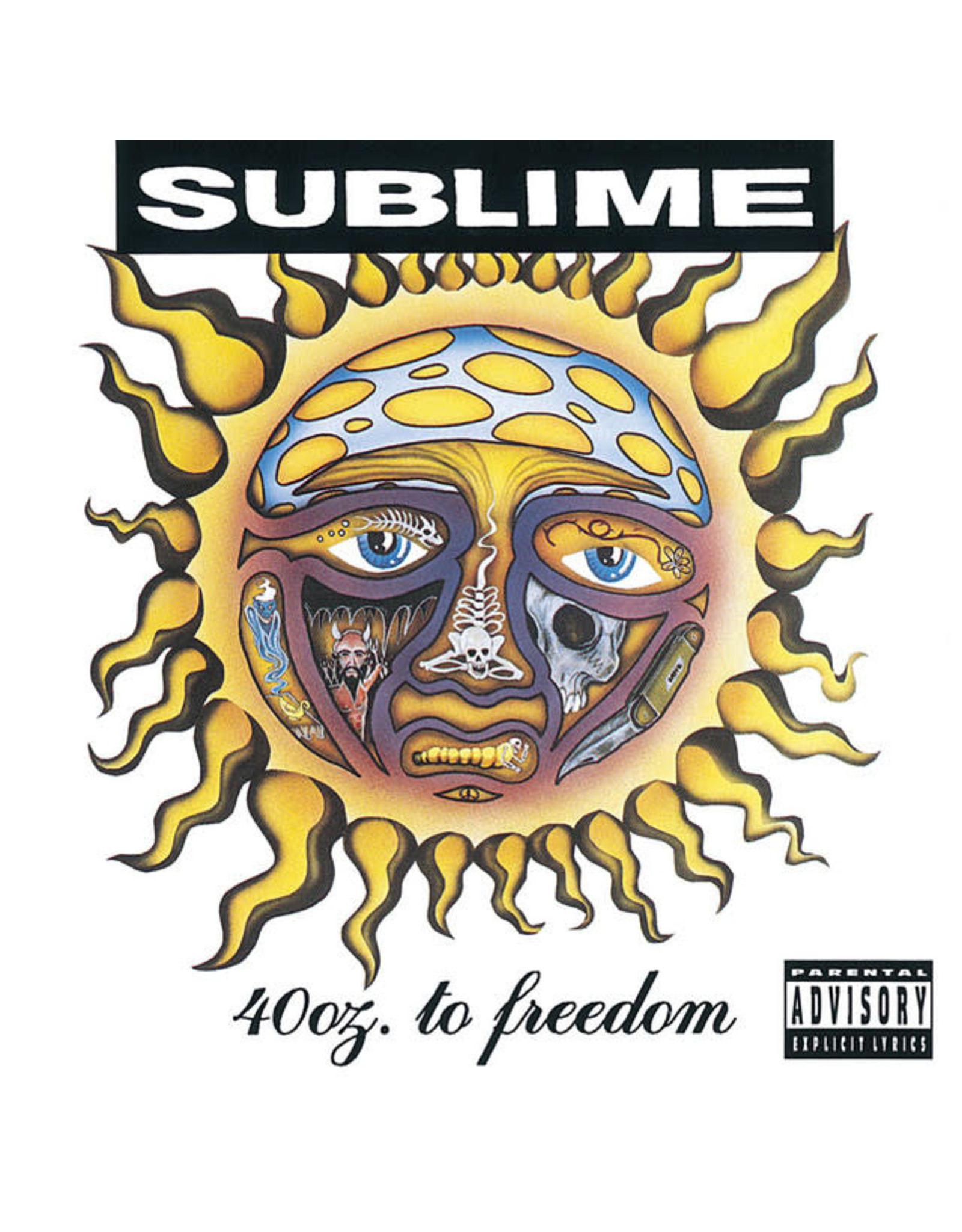 Vinyl Sublime - 40 oz. to Freedom