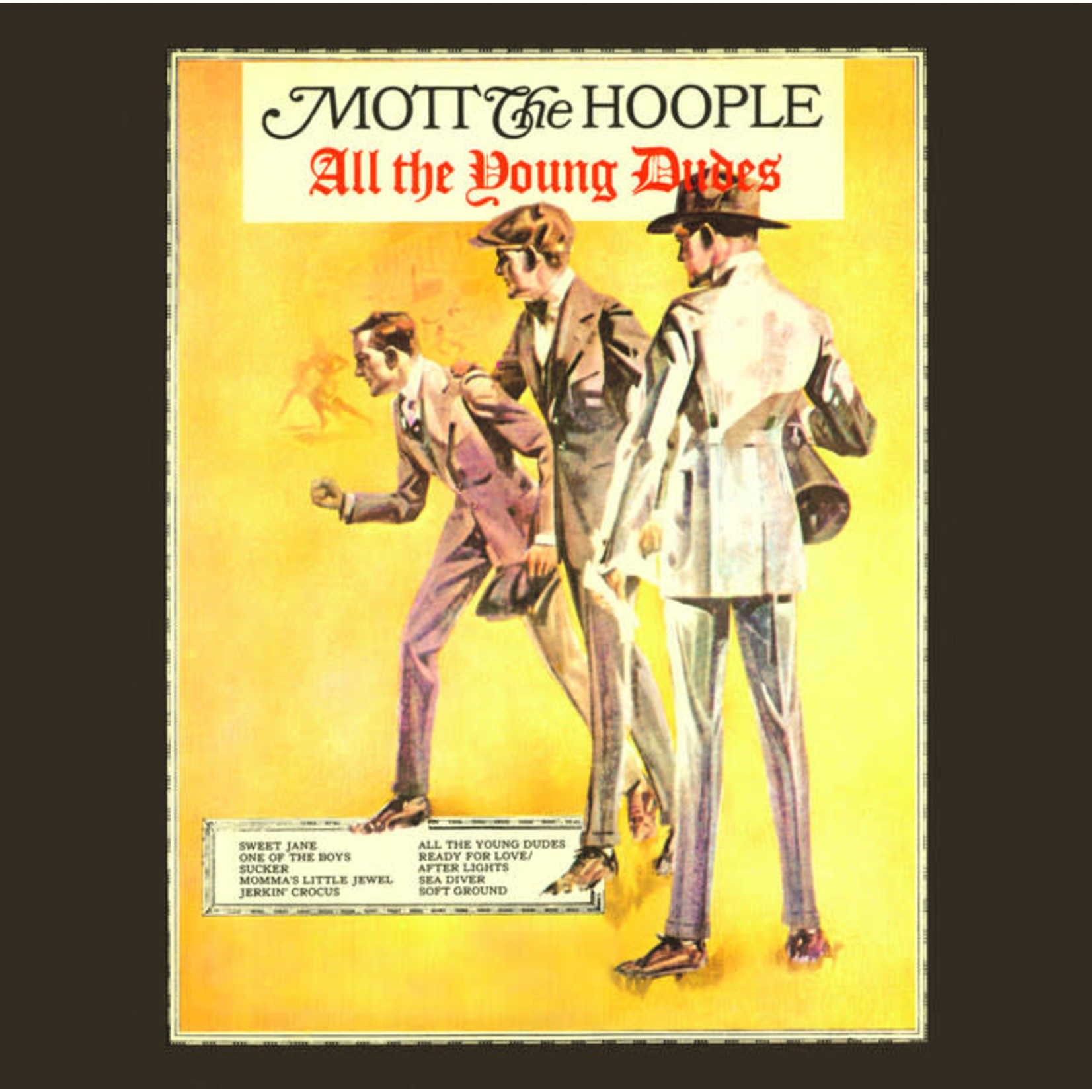 Vinyl Mott The Hoople - All The Young Dudes
