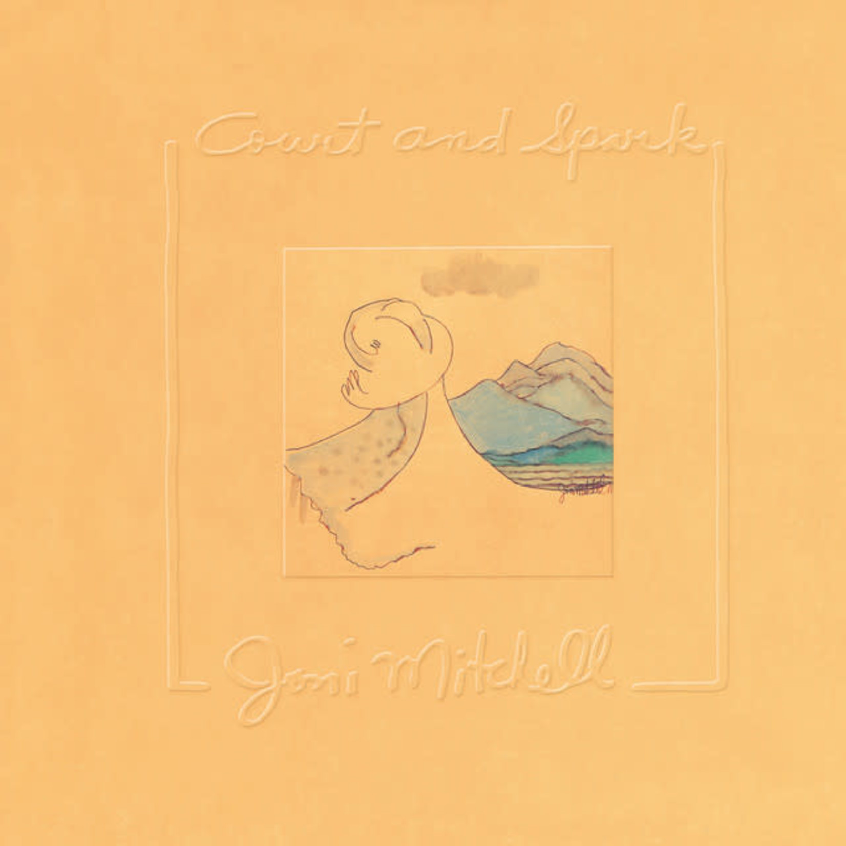 Vinyl Joni Mitchell - Court and Spark