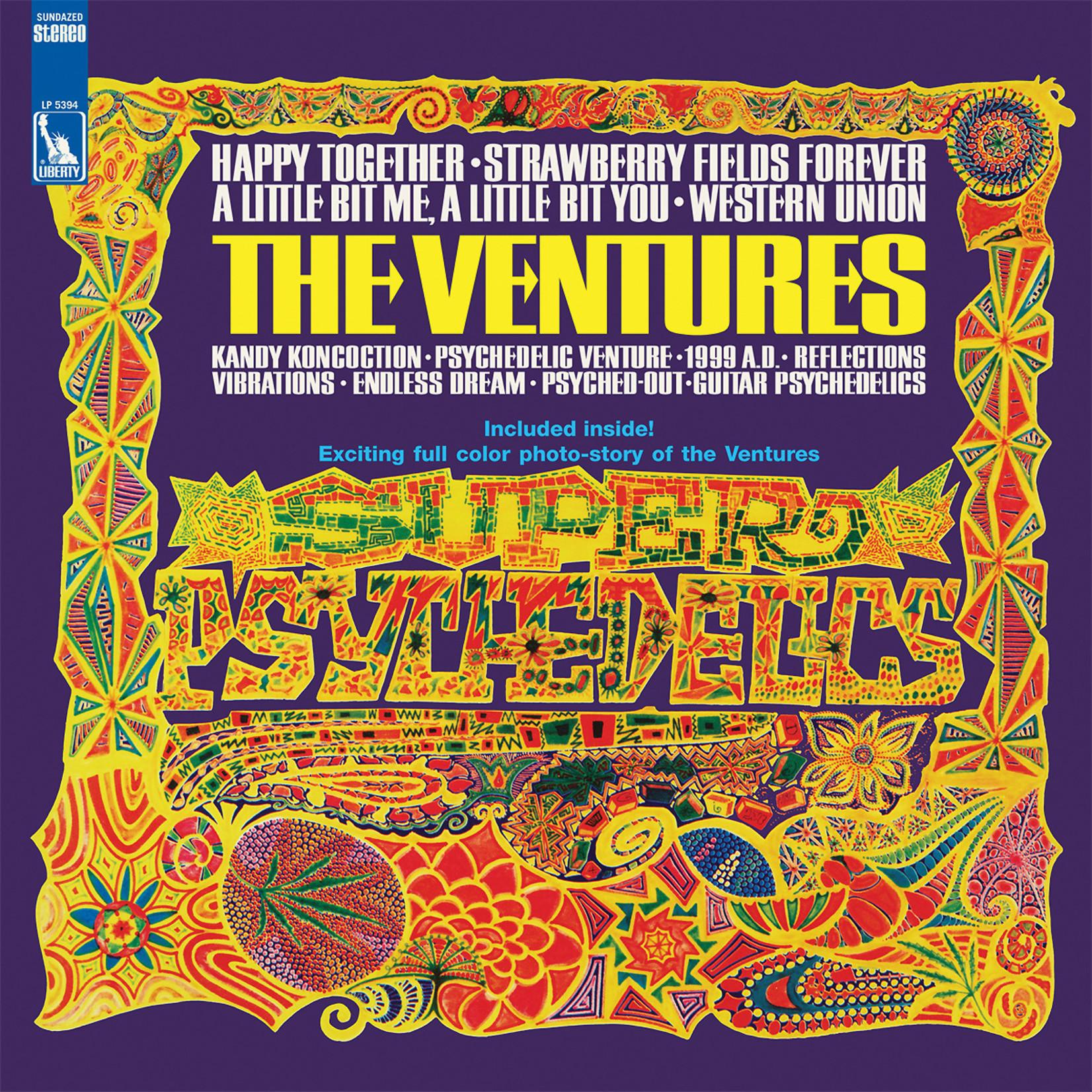 Vinyl The Ventures - Super Psychedelics