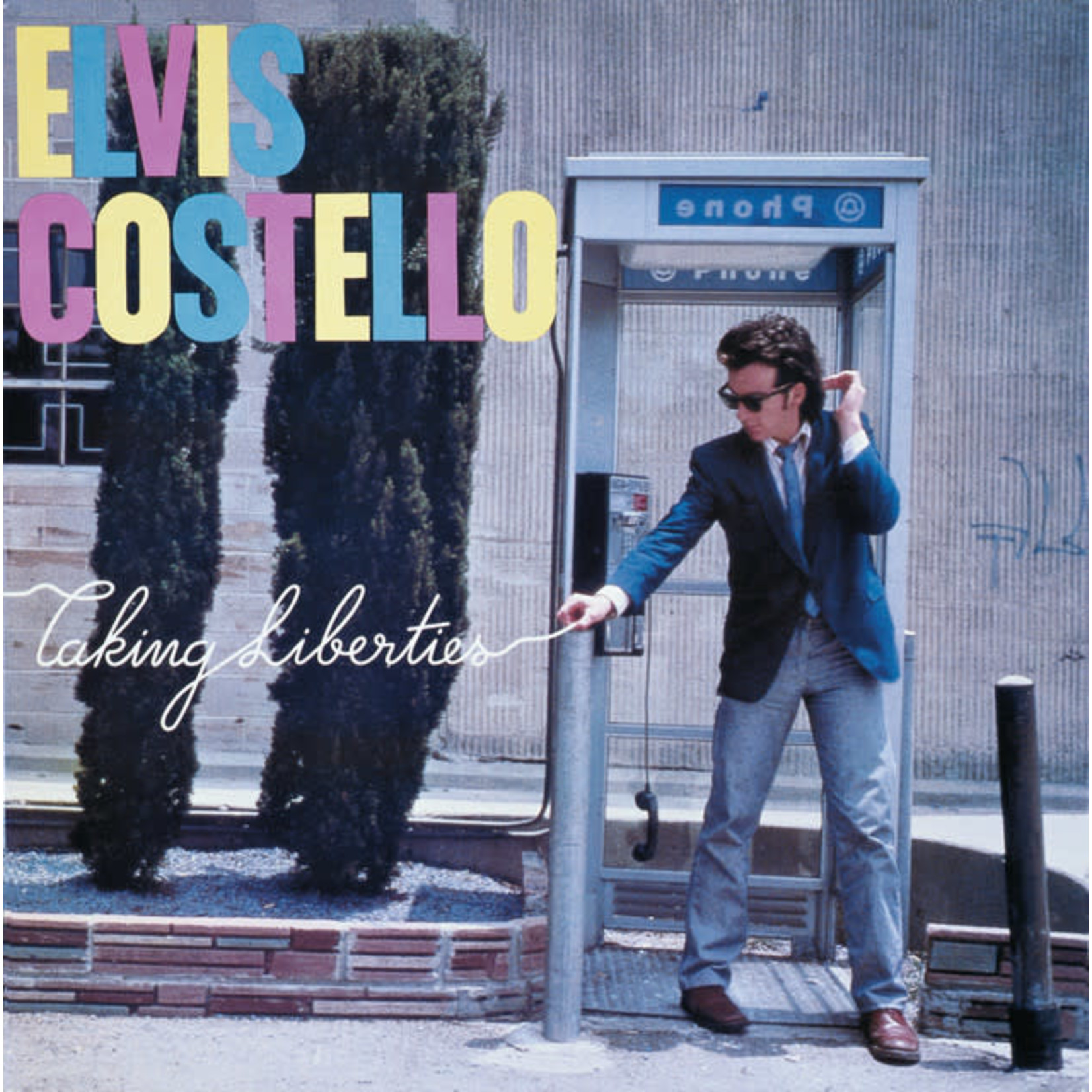 Vinyl Elvis Costello - Taking Liberties.  Final sale