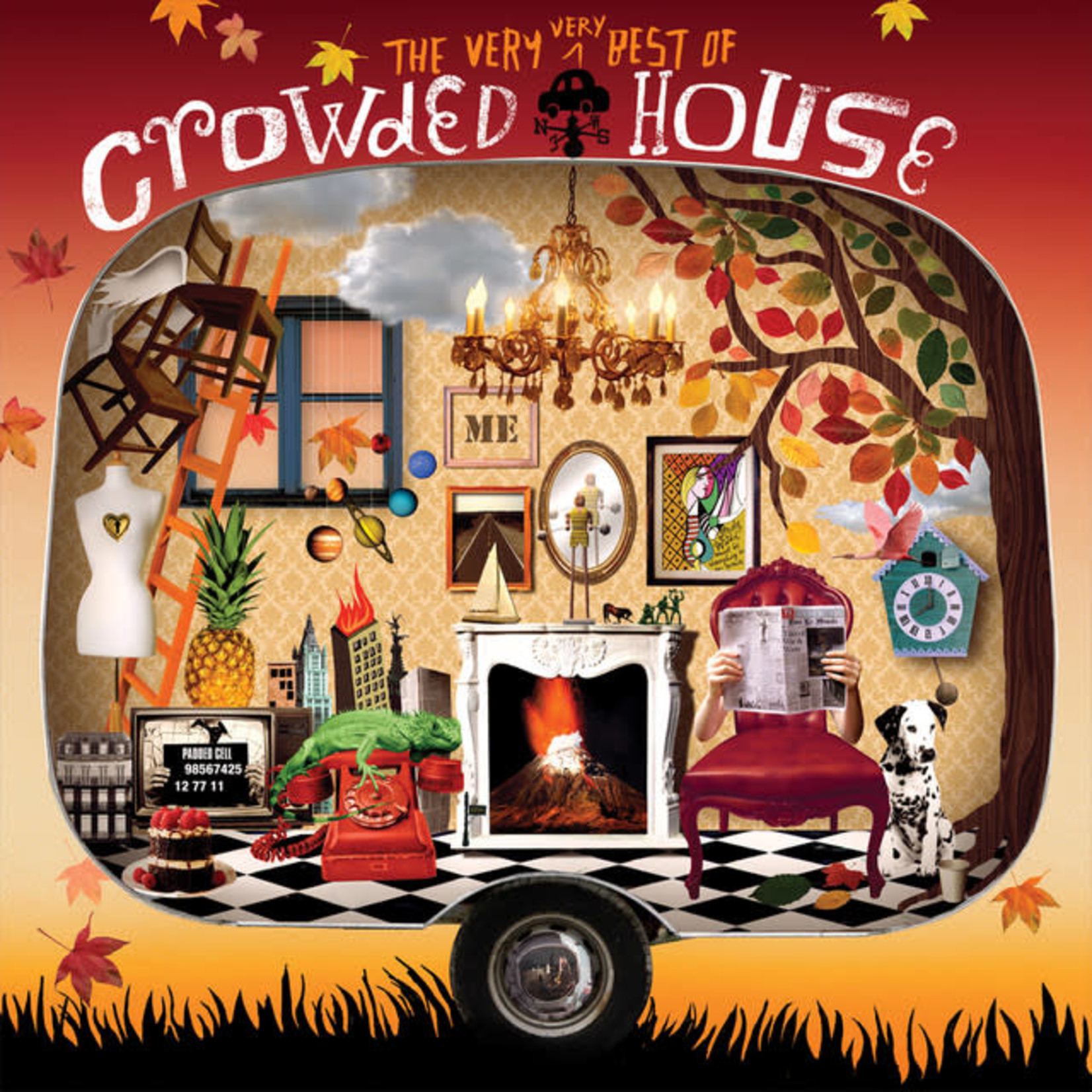 Vinyl Crowded House - The Very Very Best Of