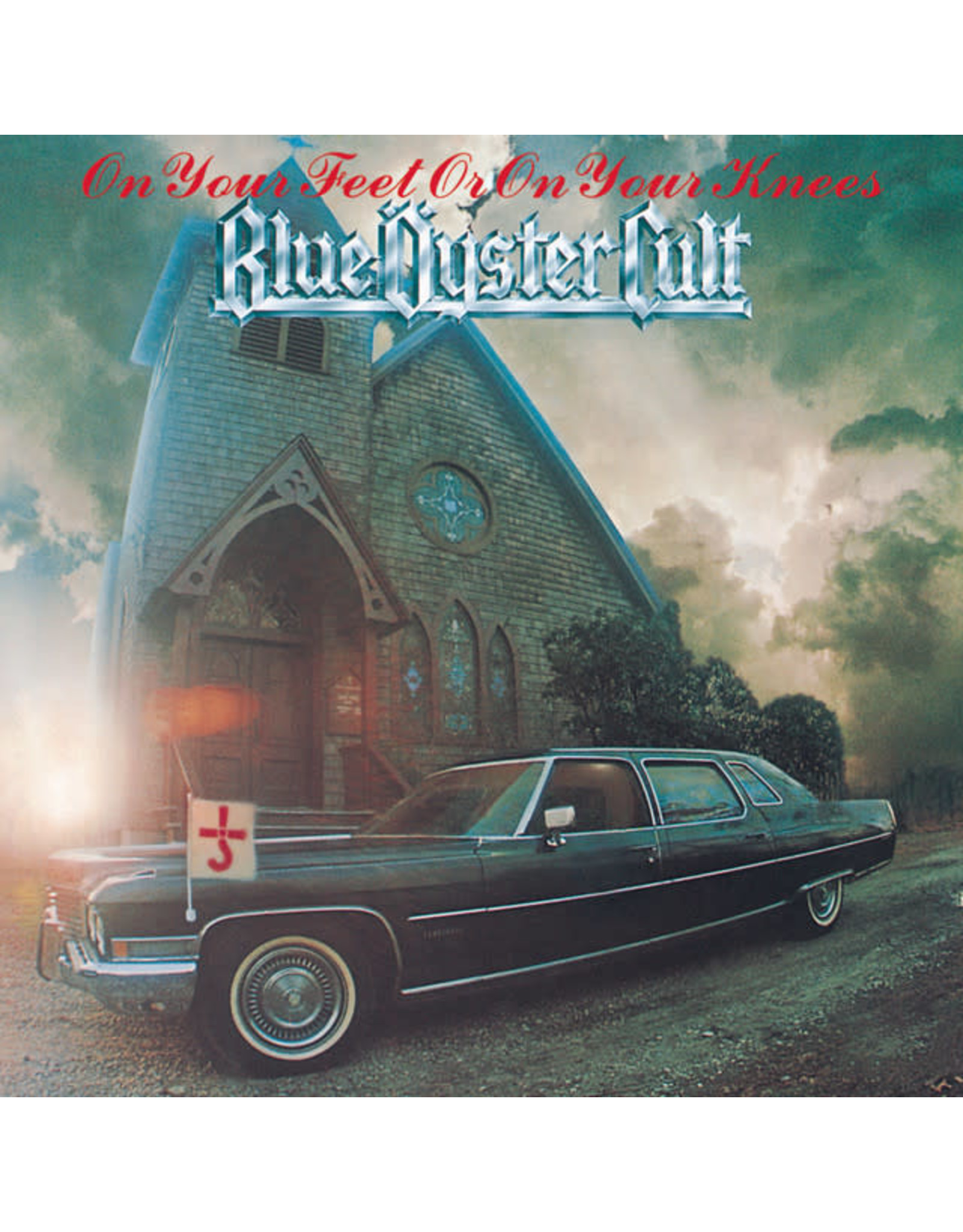 Vinyl Blue Oyster Cult - On Your Feet Or On Your Knees   Final Sale