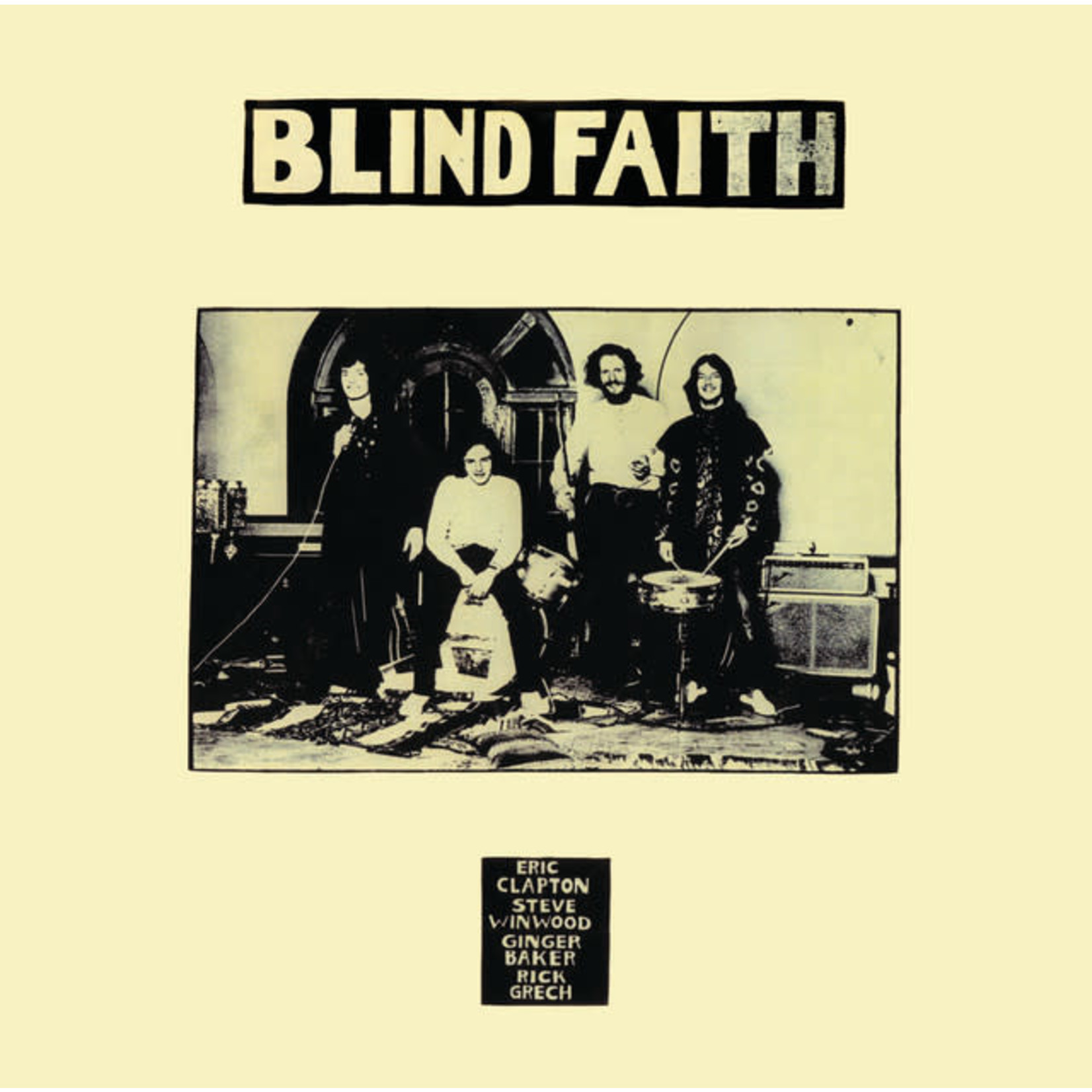 Vinyl Blind Faith - S/T