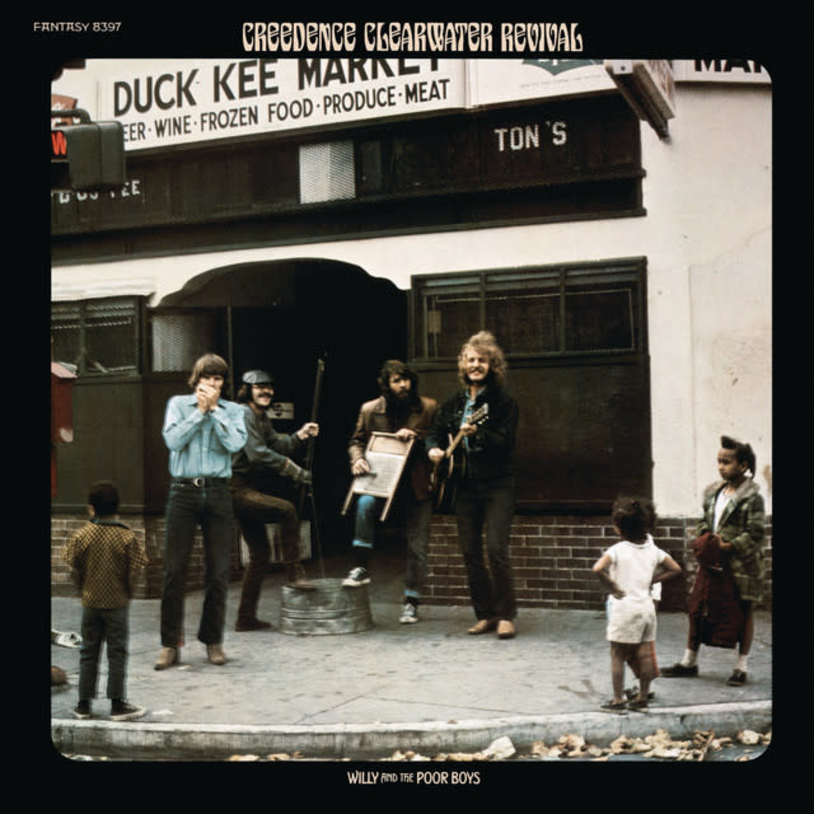 Vinyl Creedence Clearwater Revival - Willy And The Poorboys