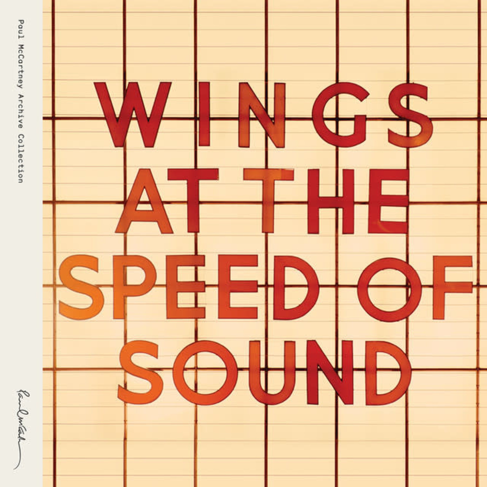 Vinyl Paul McCartney & Wings - At The Speed Of Sound
