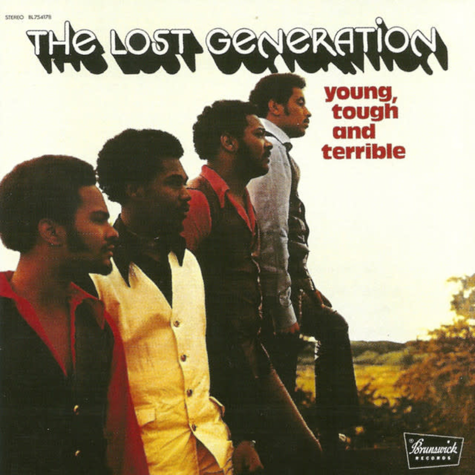Vinyl The Lost Generation - Young Tough & Terrible