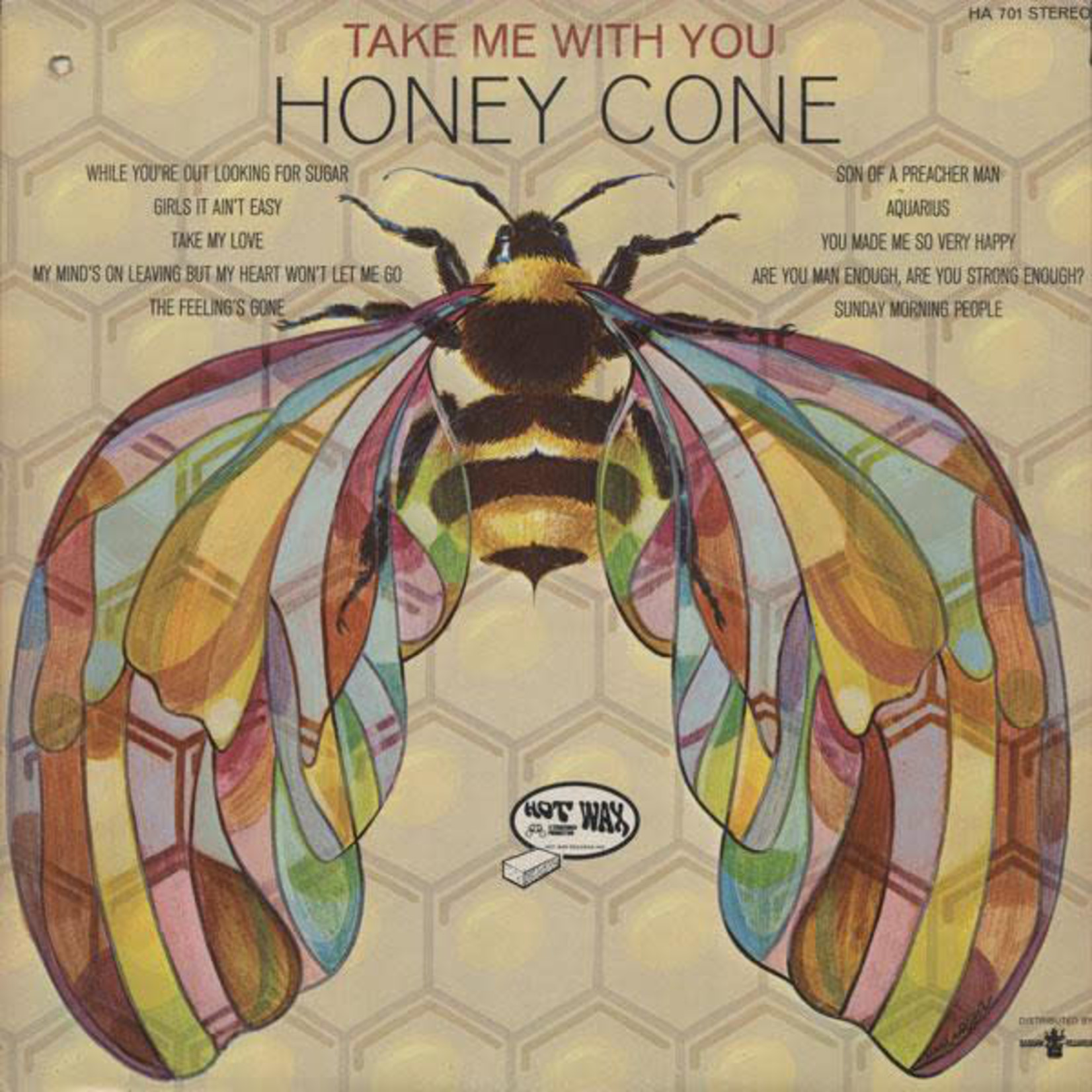 Vinyl Honey Cone - Take Me With You  $$