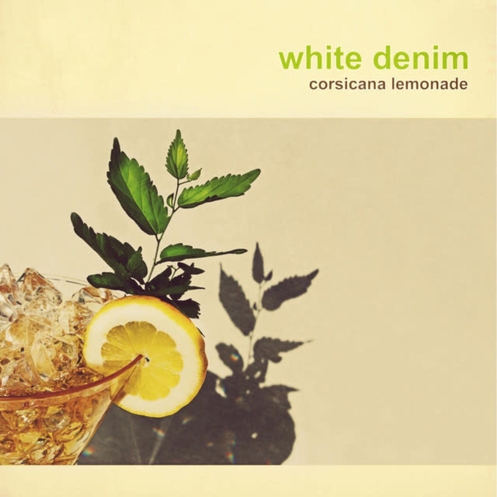 Vinyl White Denim - Corsicana Lemonade