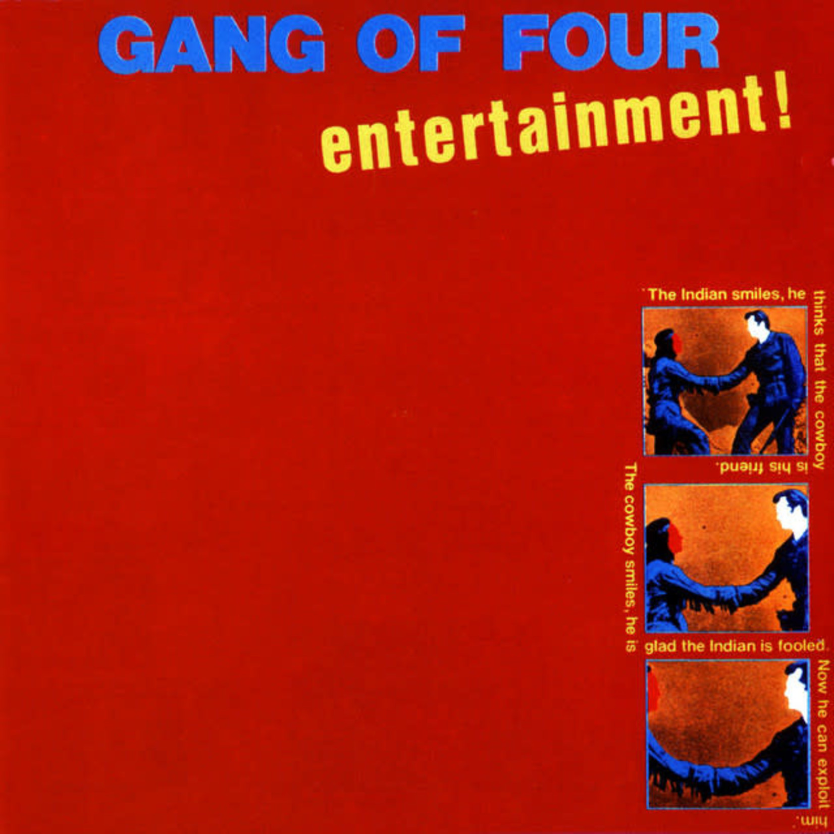 Gang Of Four - Entertainment
