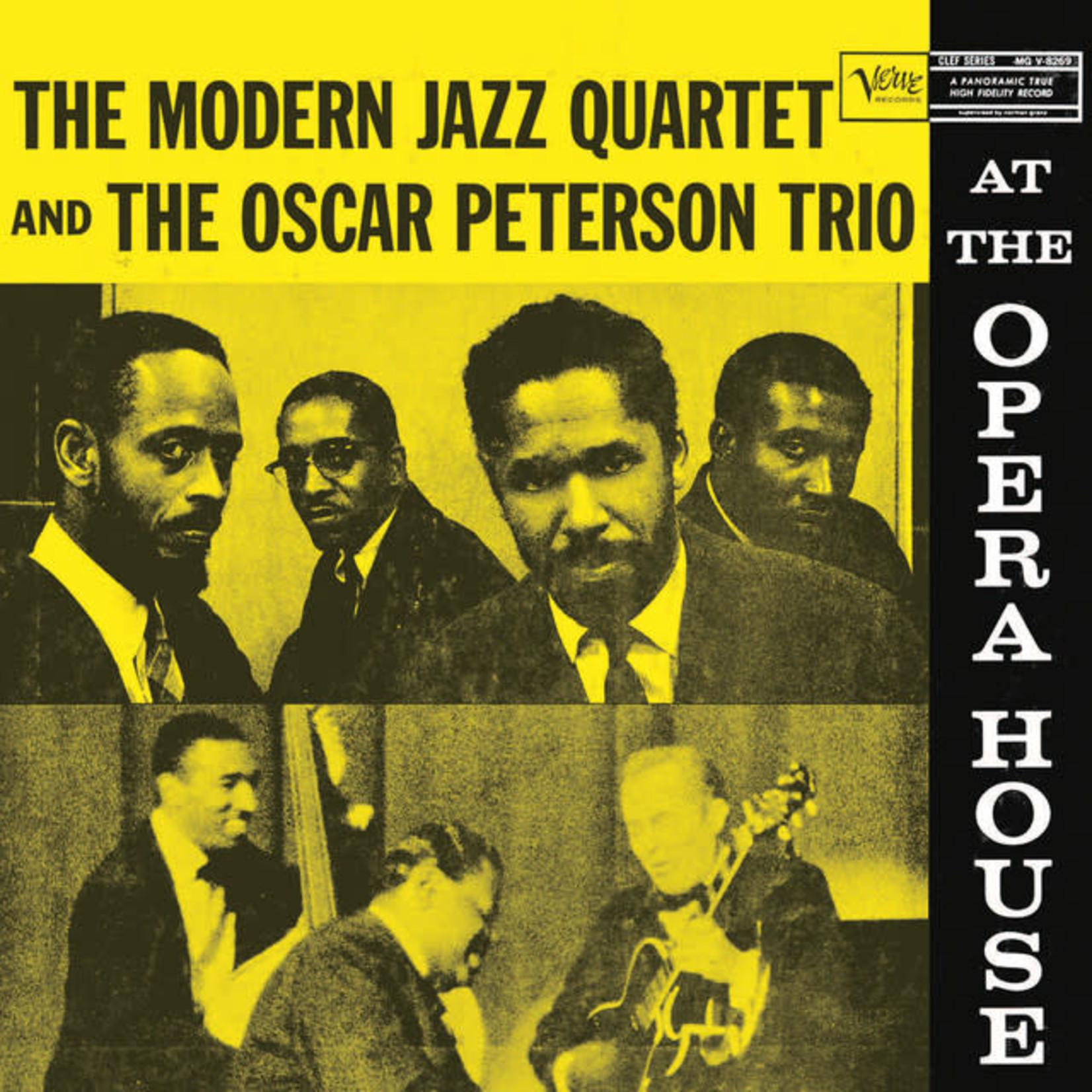 Vinyl Oscar Peterson Trio - The Modern Jazz Quartet and The Oscar Peterson Trio
