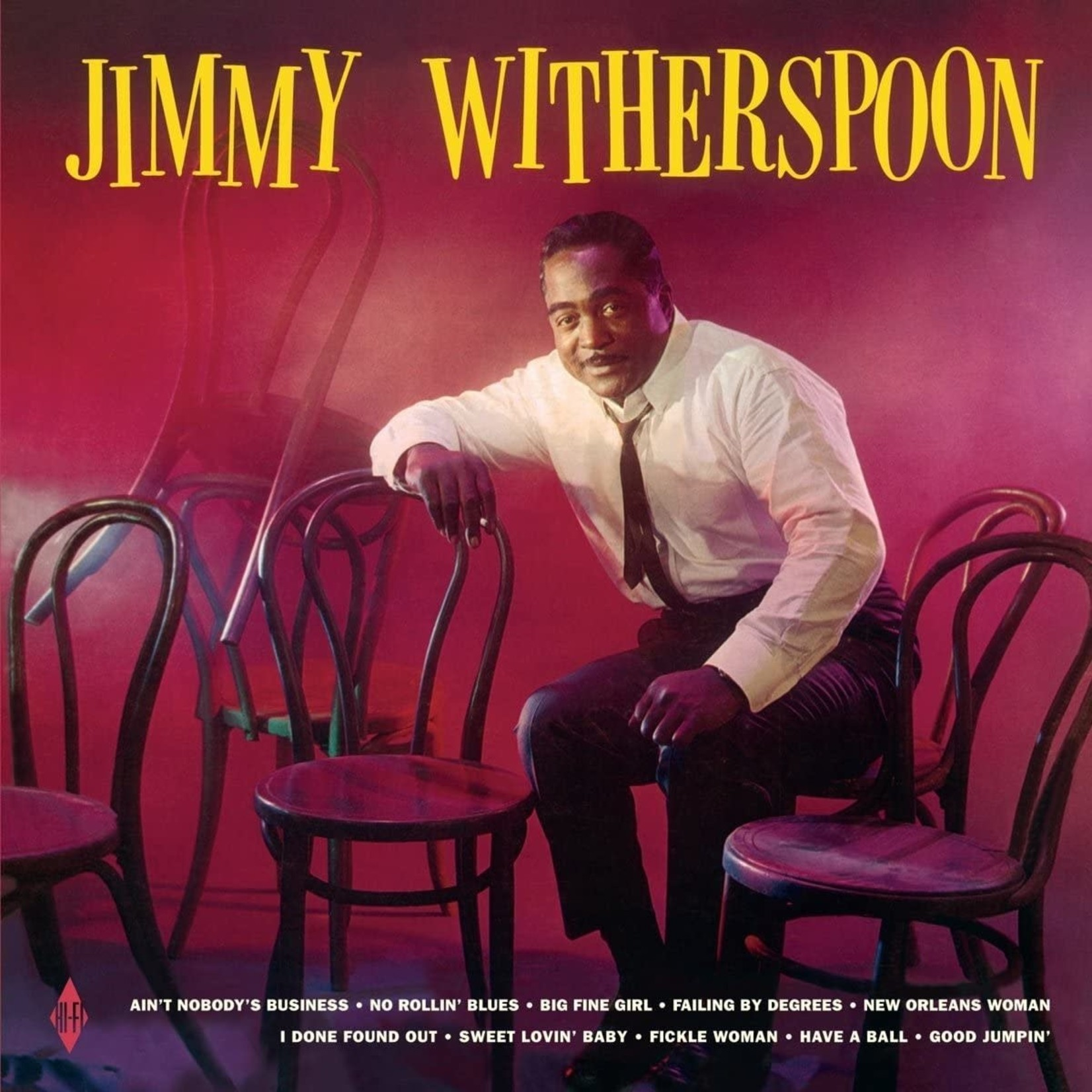 Vinyl Jimmy Witherspoon - S/T.  Final Sale