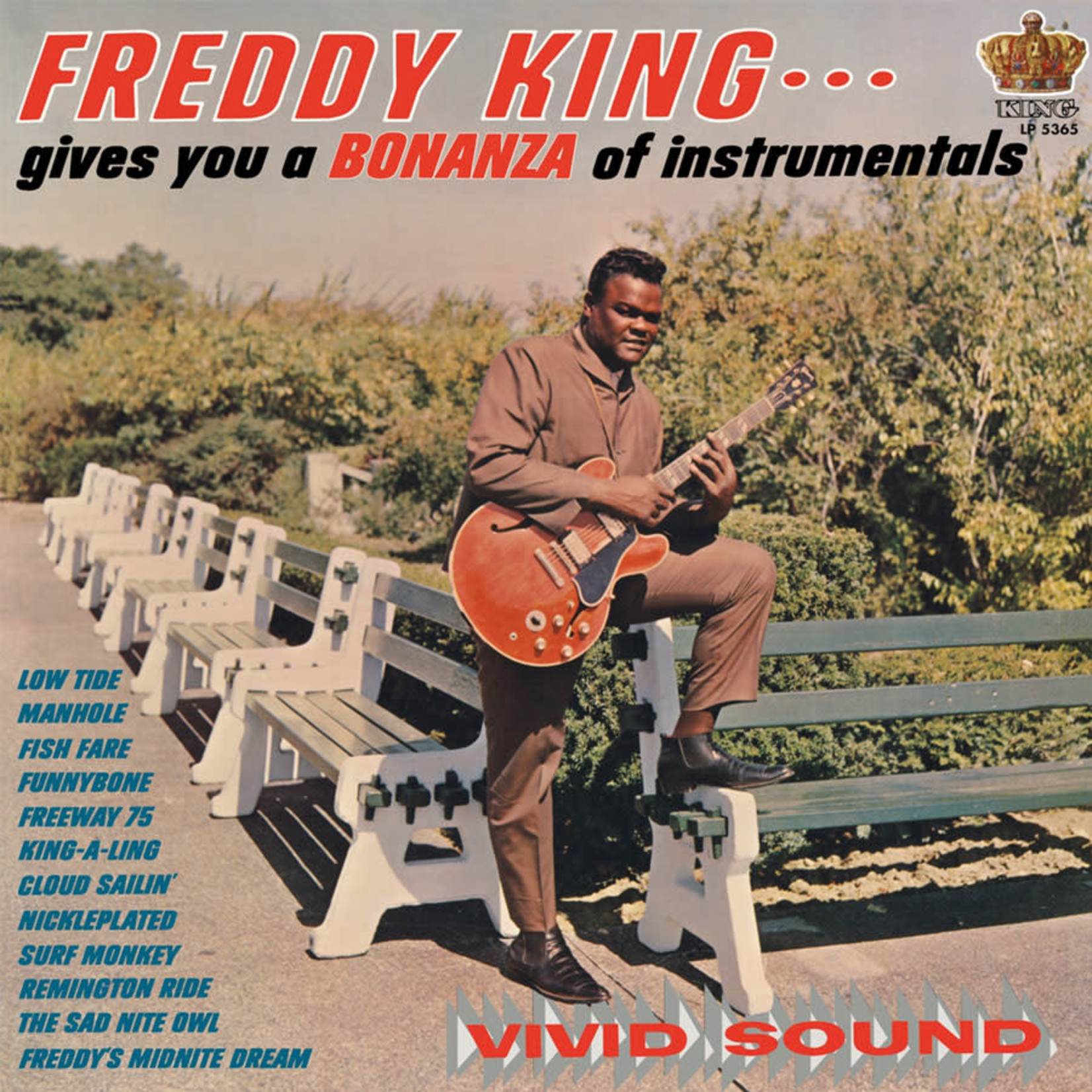Vinyl Freddy King - Gives You A Bonanza Of Instrumentals  Final Sale