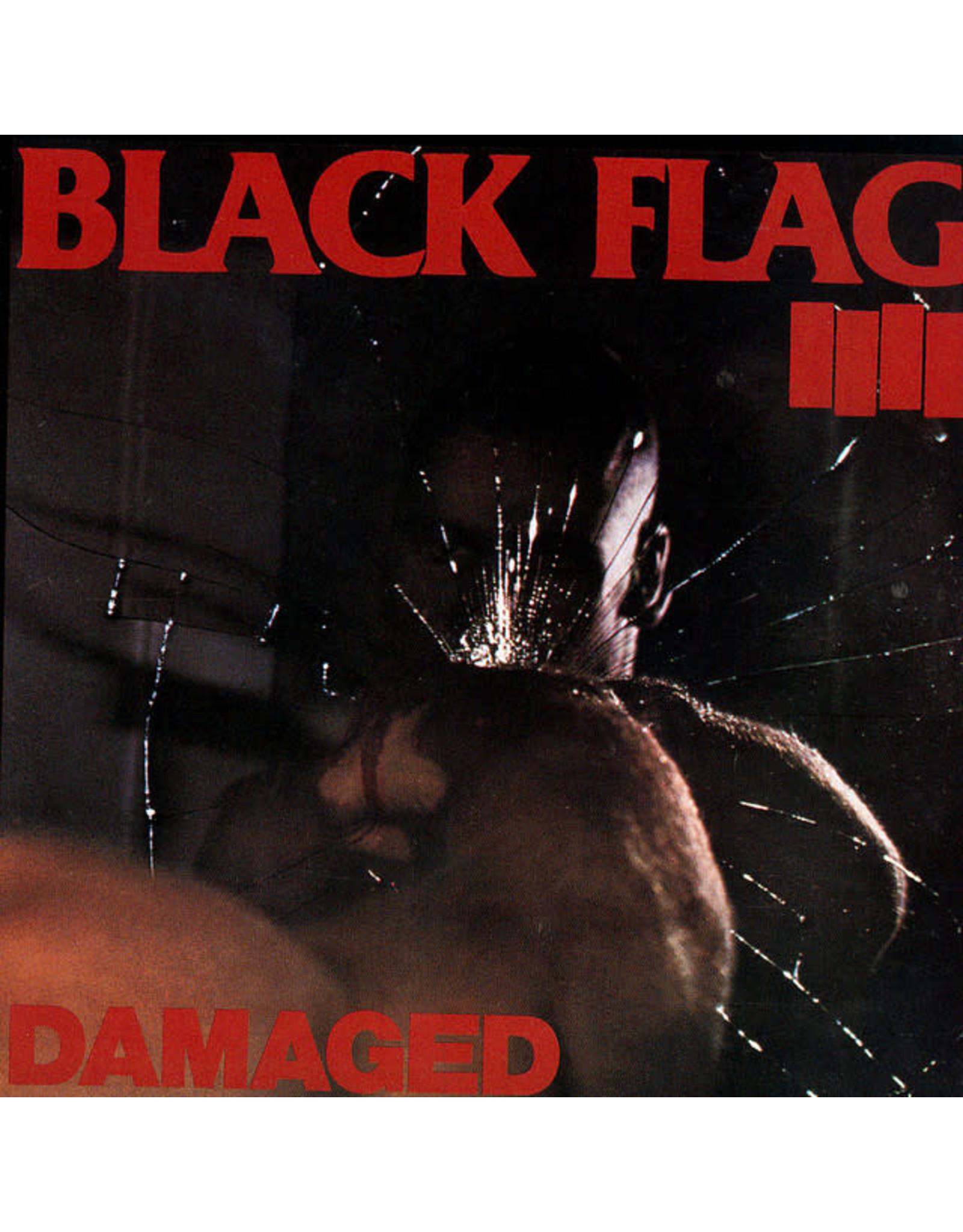 Vinyl Black Flag - Damaged