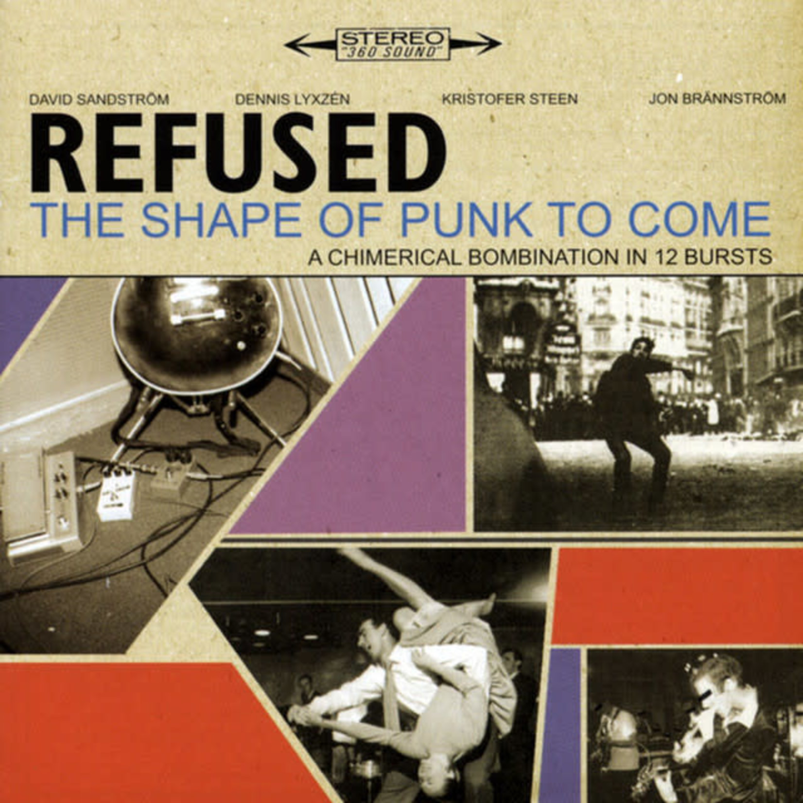 Vinyl Refused - The Shape Of Punk To Come
