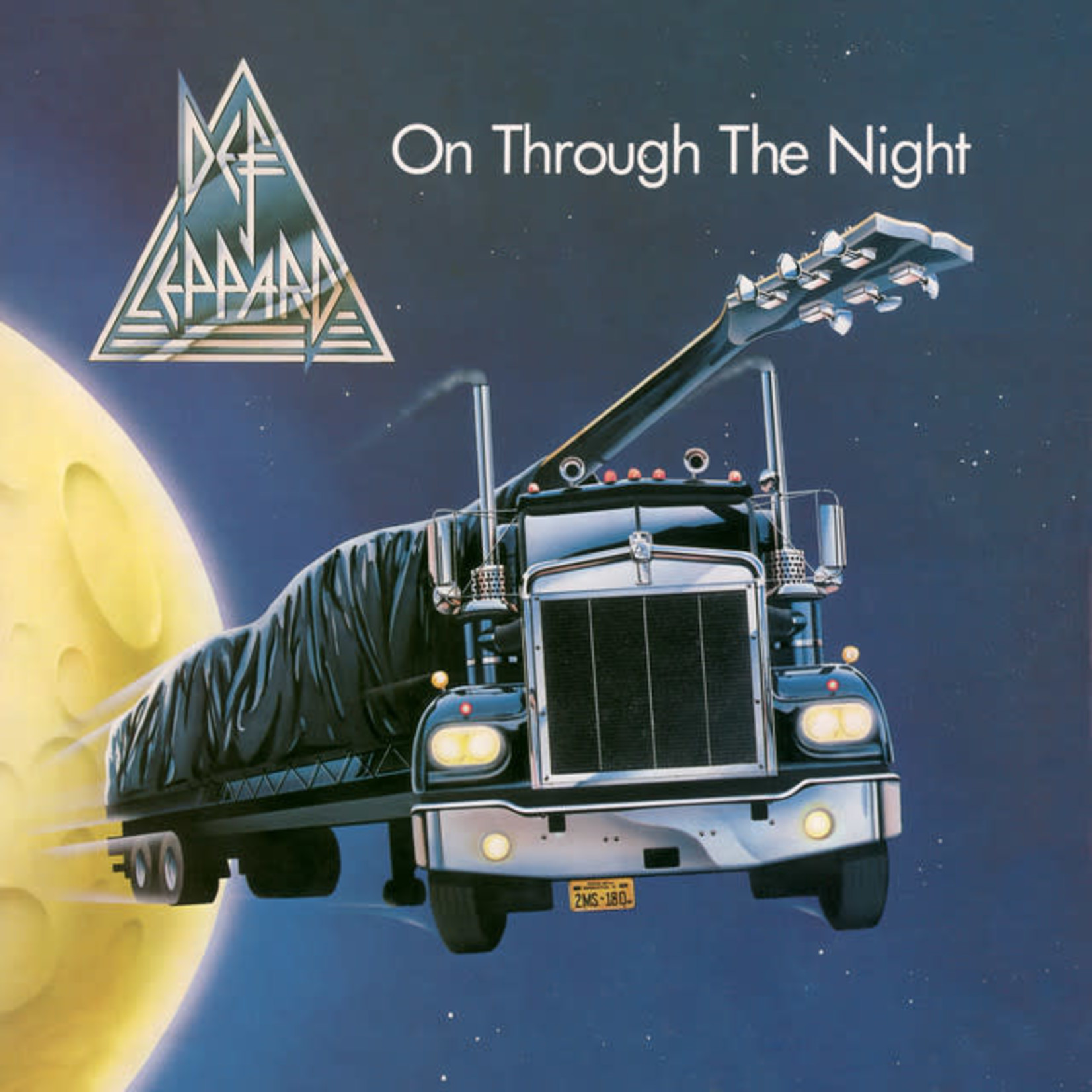 Vinyl Def Leppard - On Through The Night